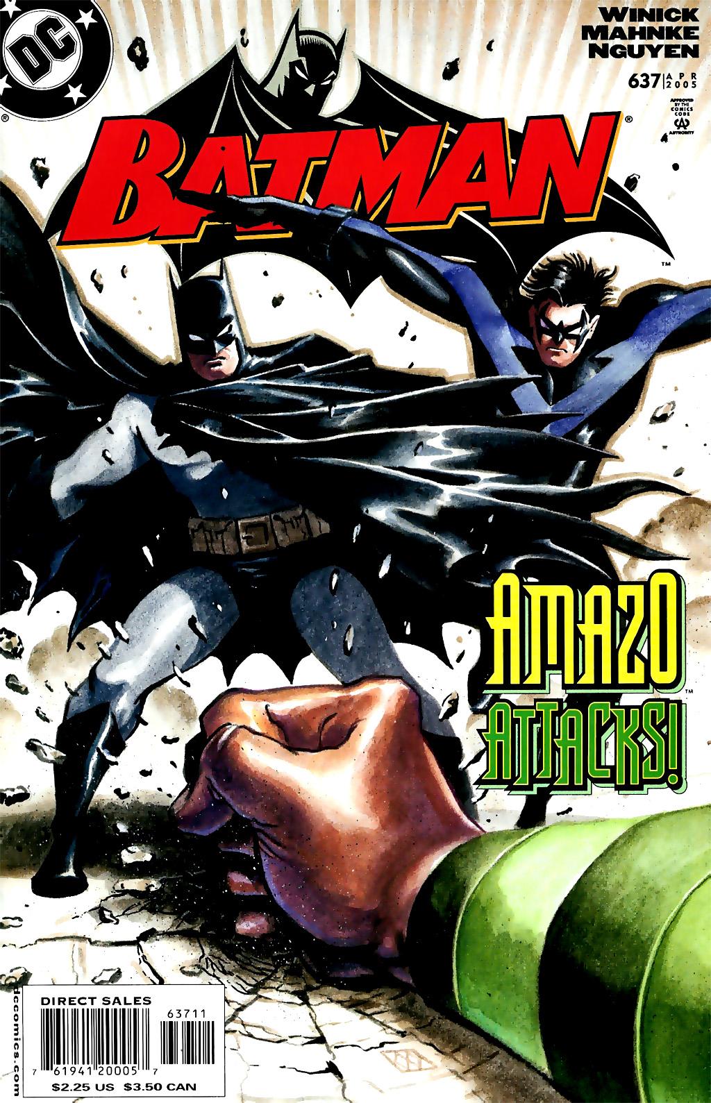 Batman: Under The Hood 3 Page 1