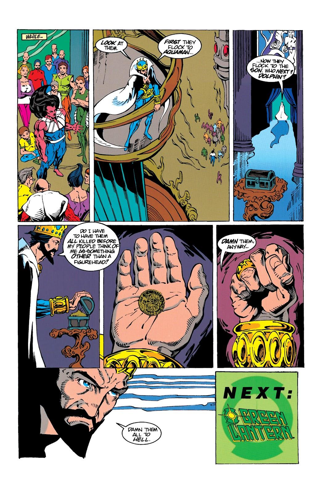 Aquaman (1994) Issue #9 #15 - English 22