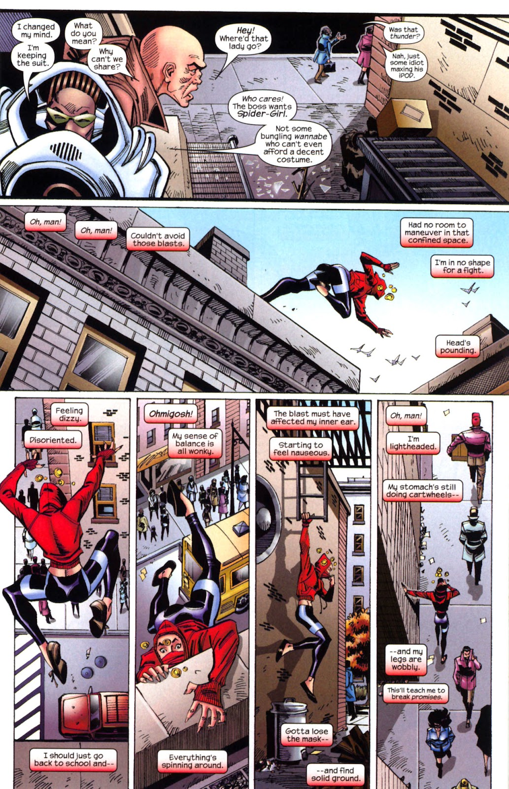 Amazing Spider-Girl Issue #2 #3 - English 12