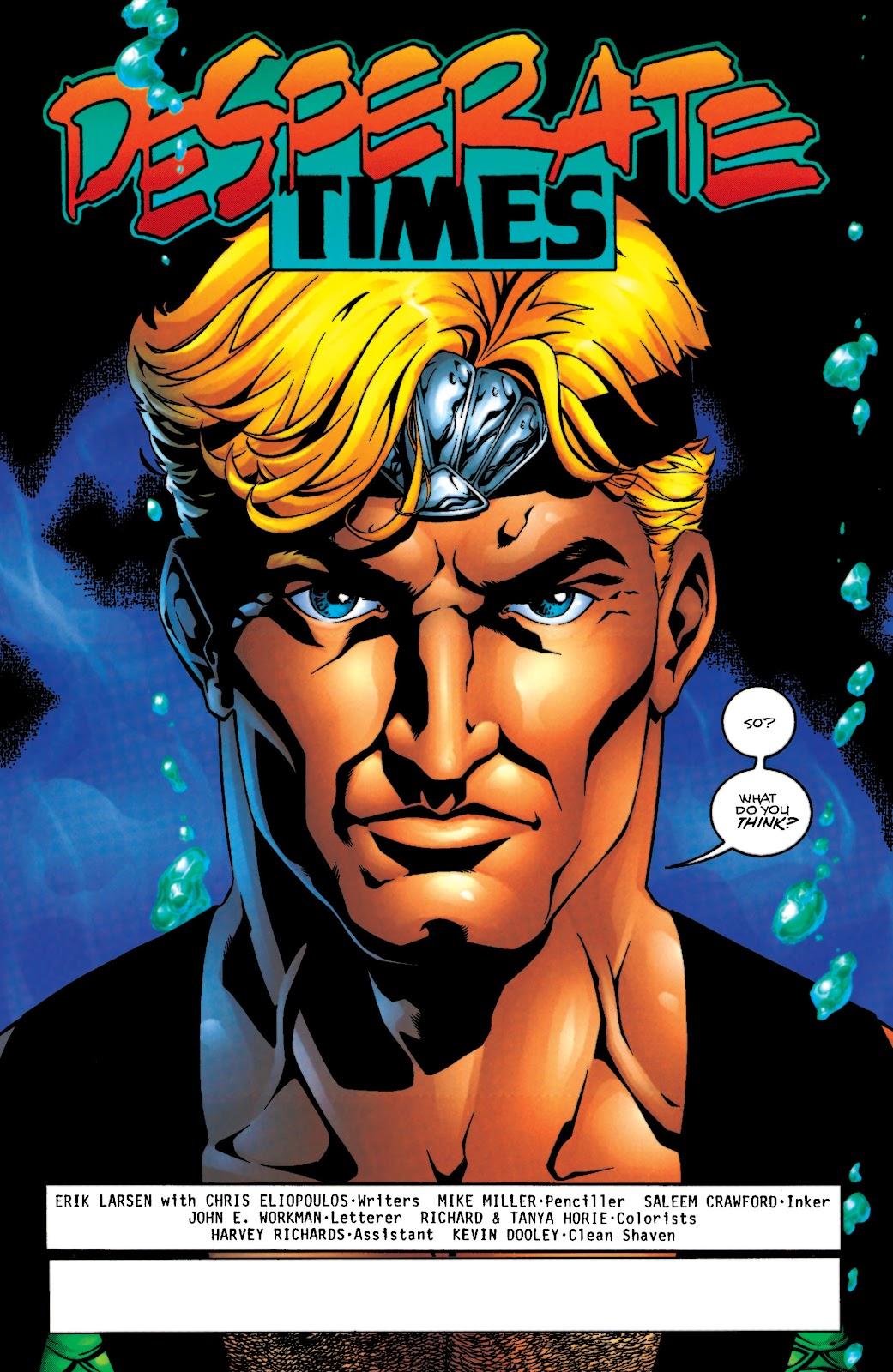 Aquaman (1994) Issue #55 #61 - English 2