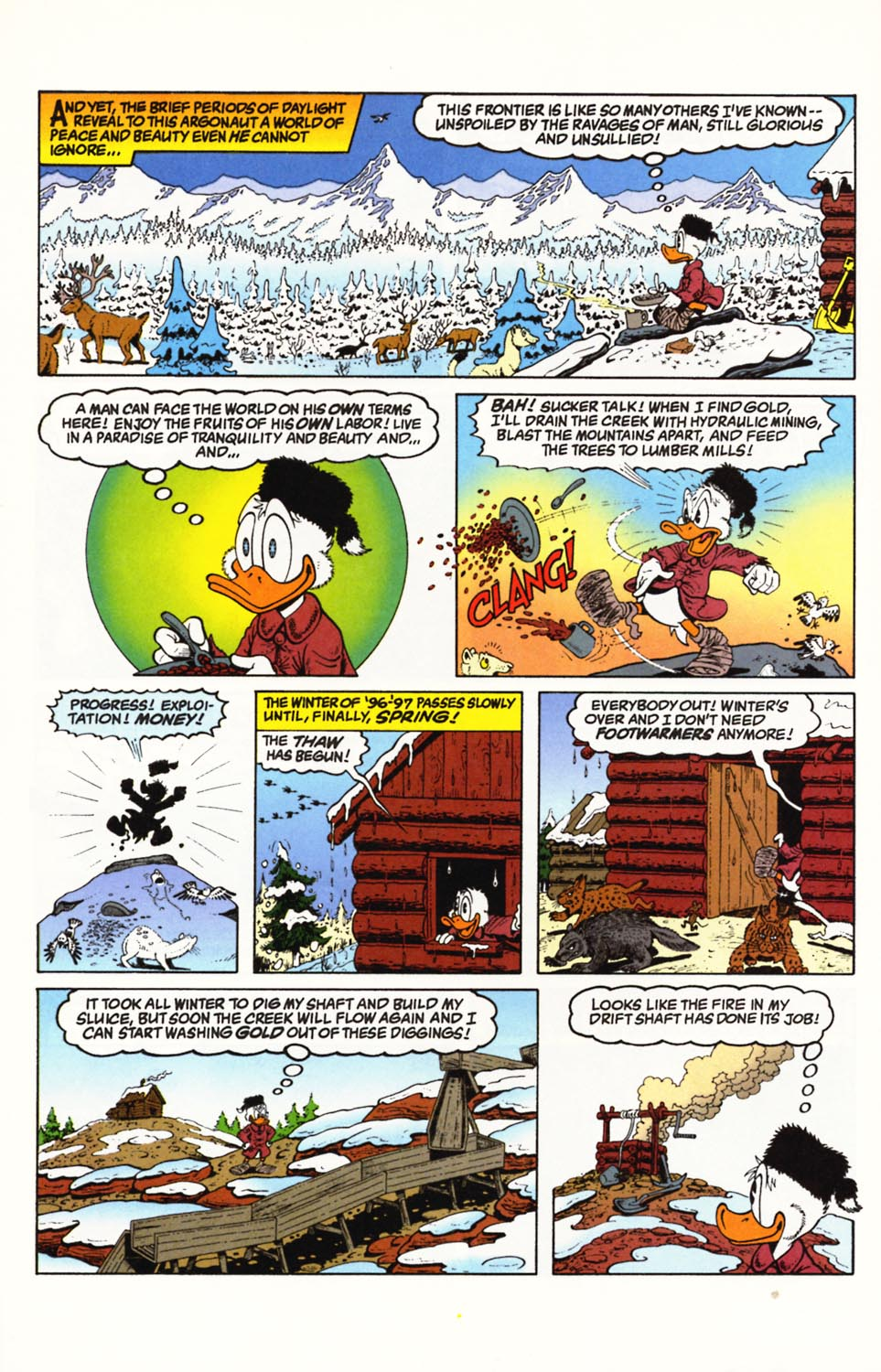 Uncle Scrooge (1953) Issue #292 #292 - English 16