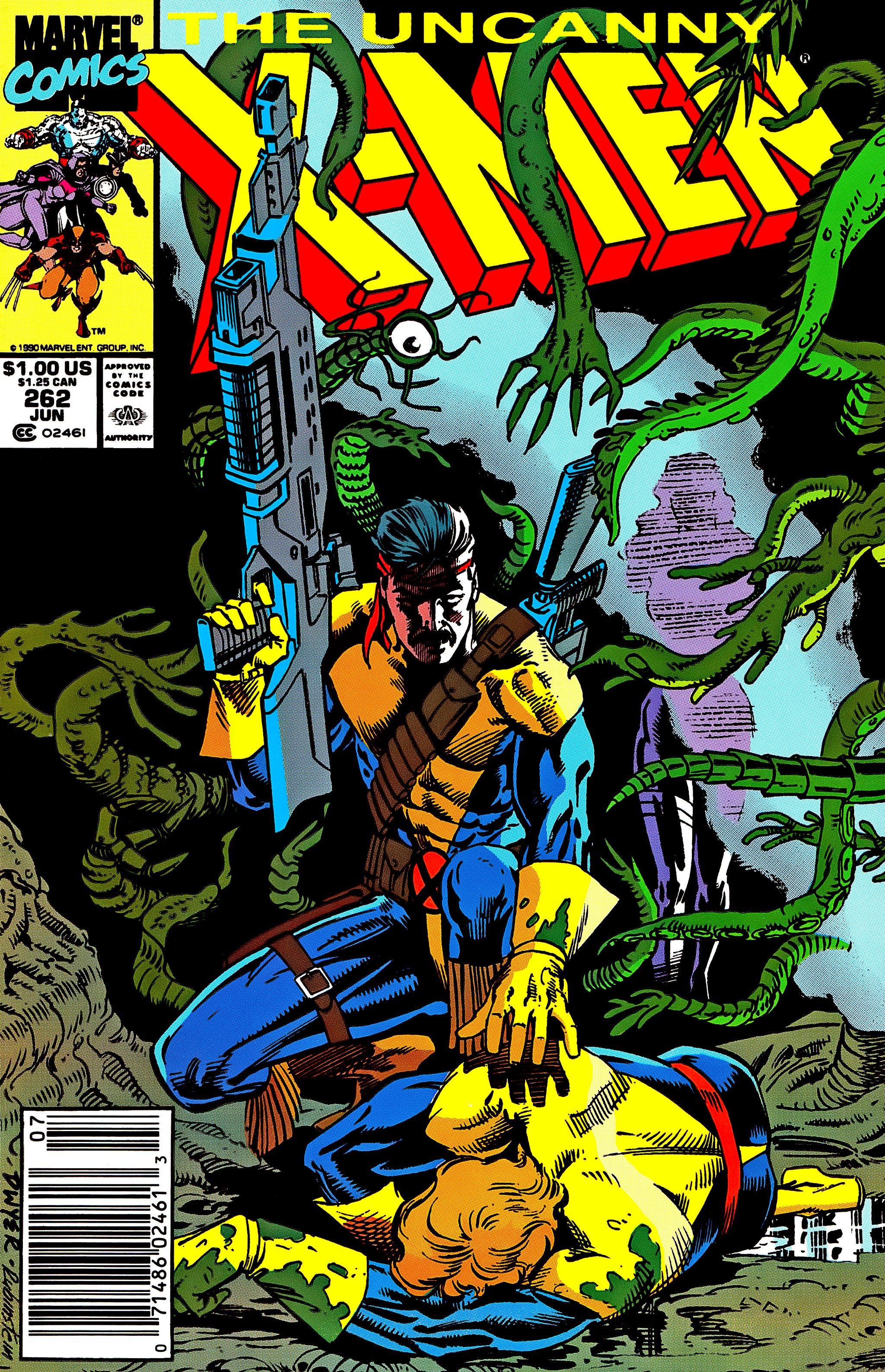Uncanny X-Men (1963) 262 Page 1