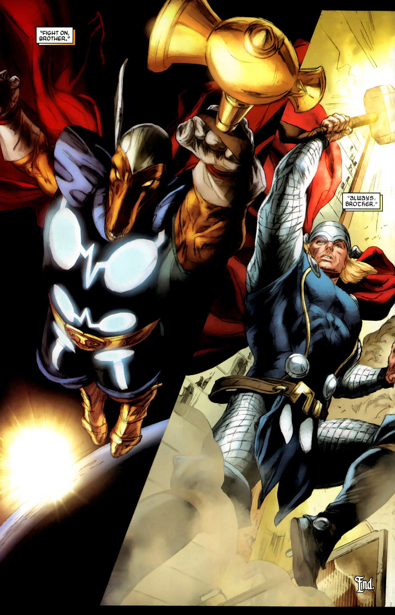 Read online Secret Invasion: Thor comic -  Issue #3 - 24