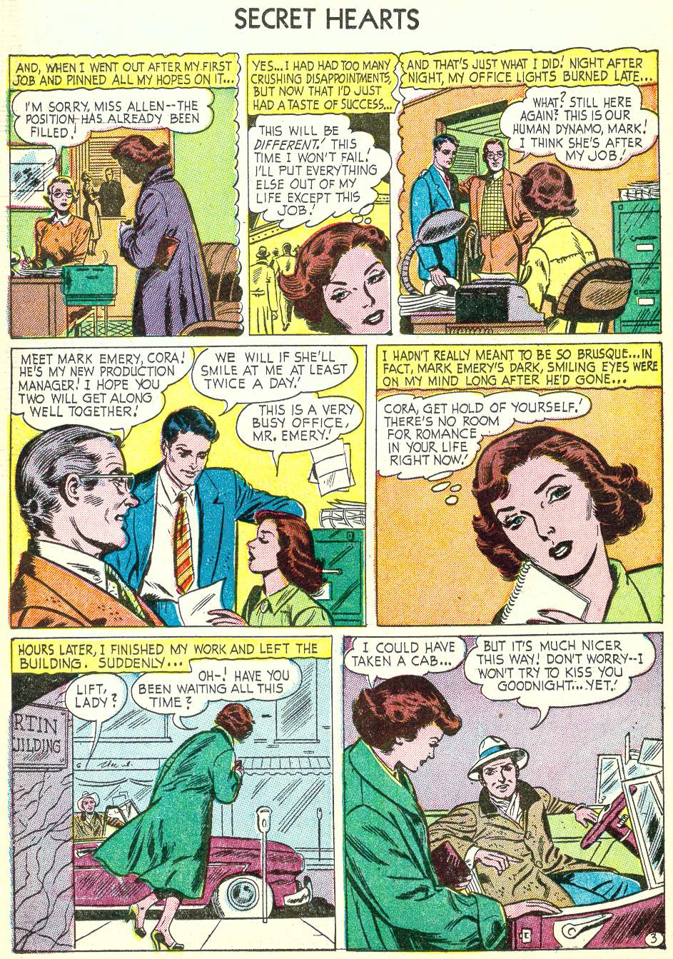 Read online Secret Hearts comic -  Issue #22 - 18