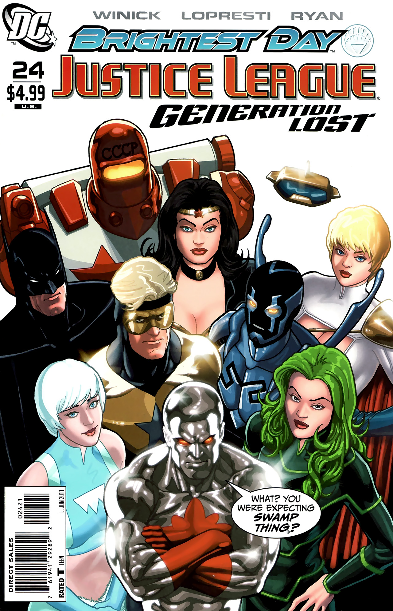Read online Justice League: Generation Lost comic -  Issue #24 - 2