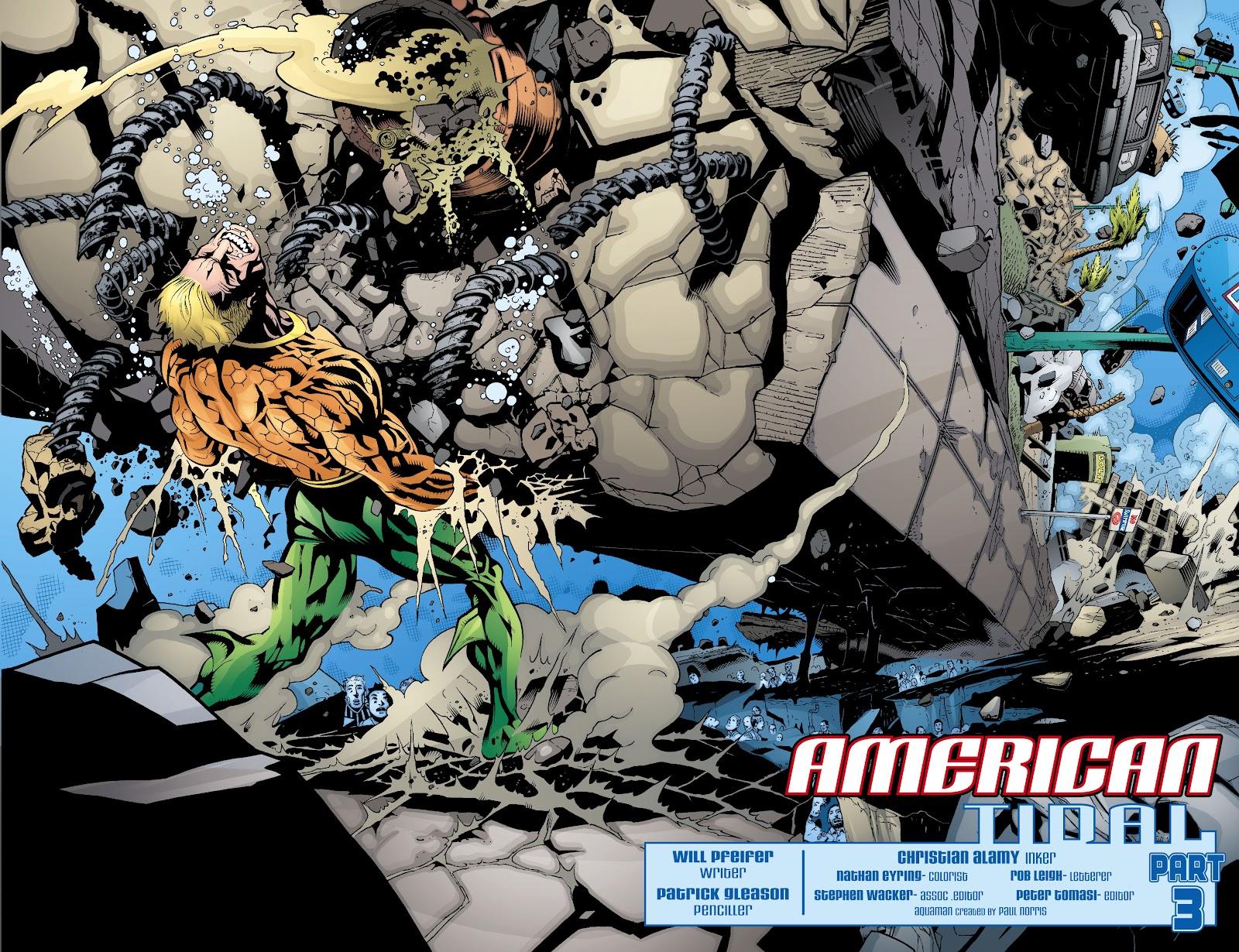 Aquaman (2003) Issue #17 #17 - English 5