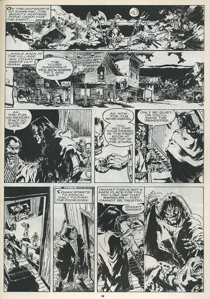 The Savage Sword Of Conan Issue #175 #176 - English 21