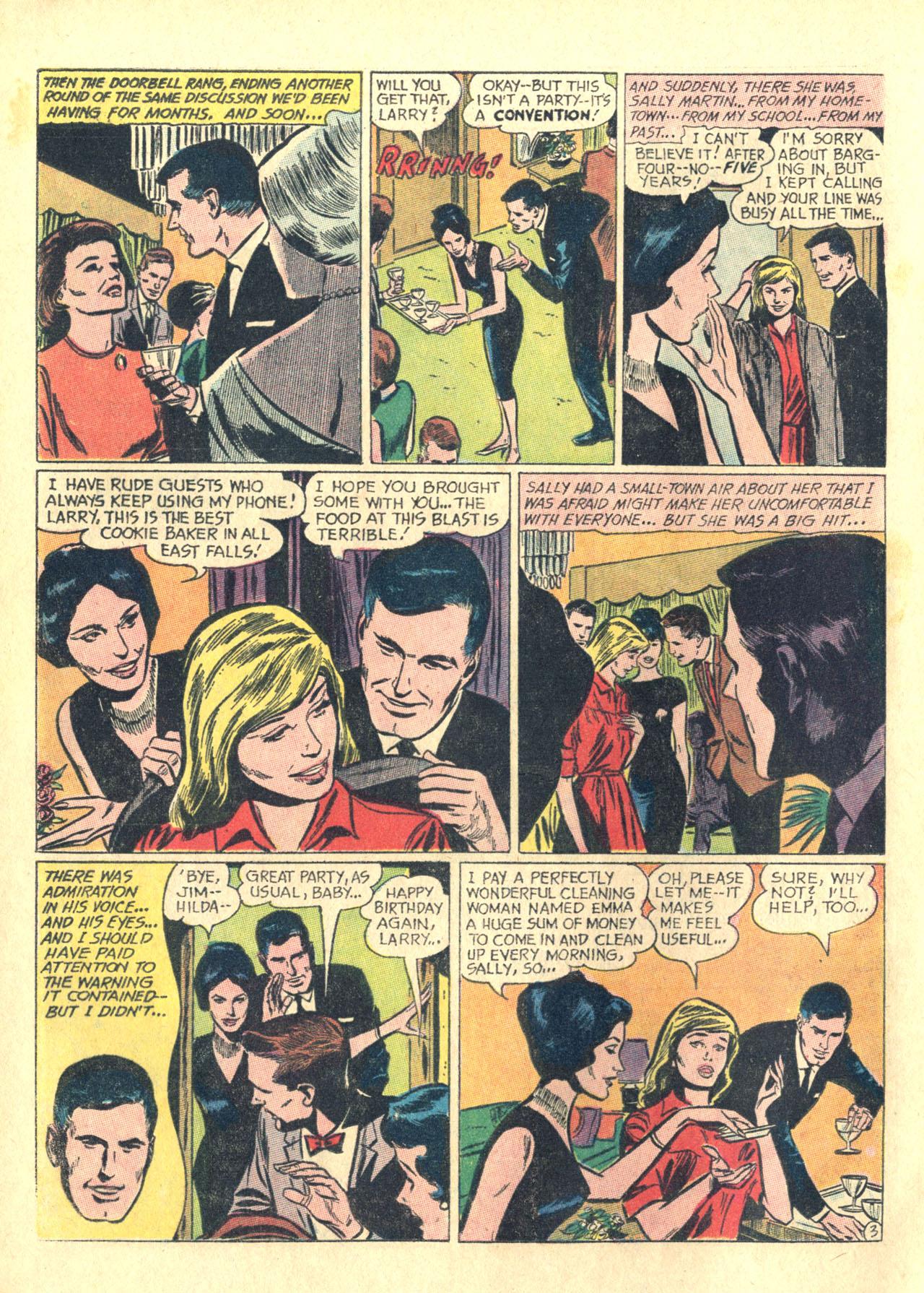 Read online Secret Hearts comic -  Issue #116 - 12