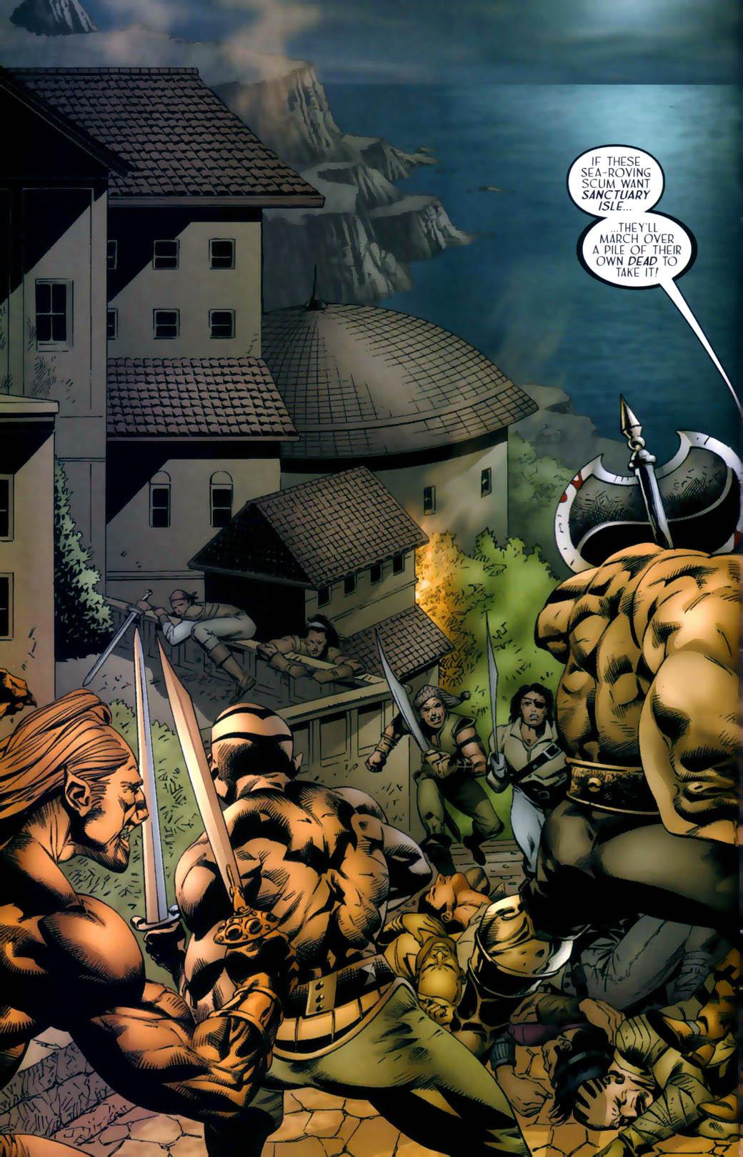 Read online Scion comic -  Issue #30 - 4