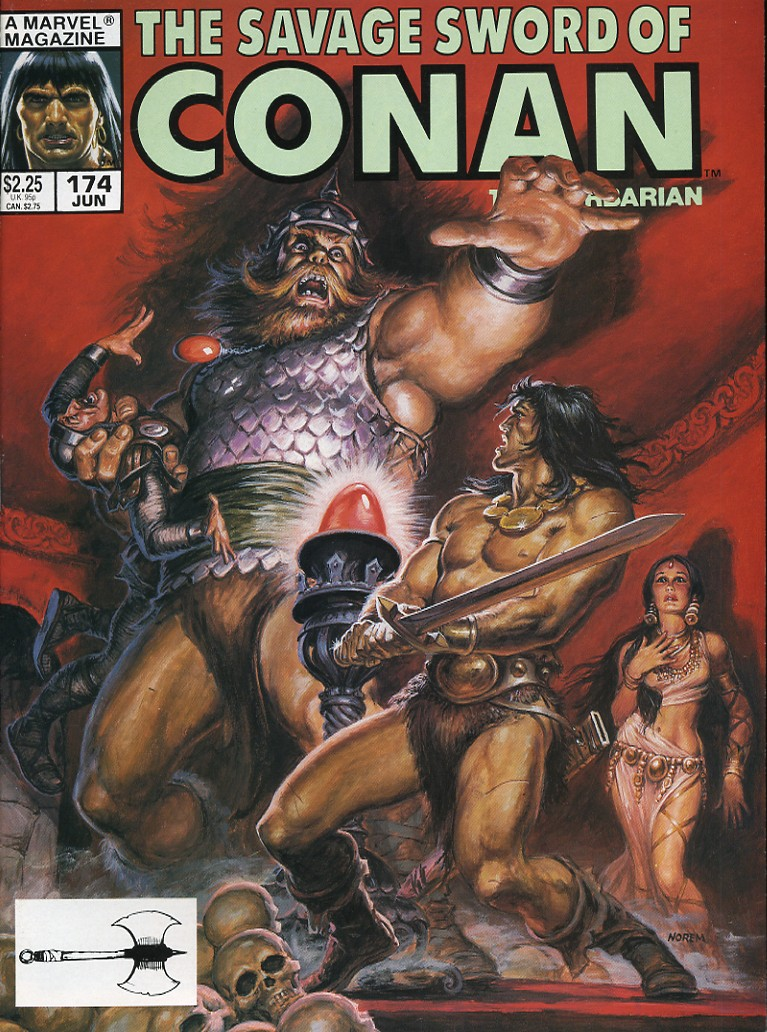 The Savage Sword Of Conan Issue #174 #175 - English 1