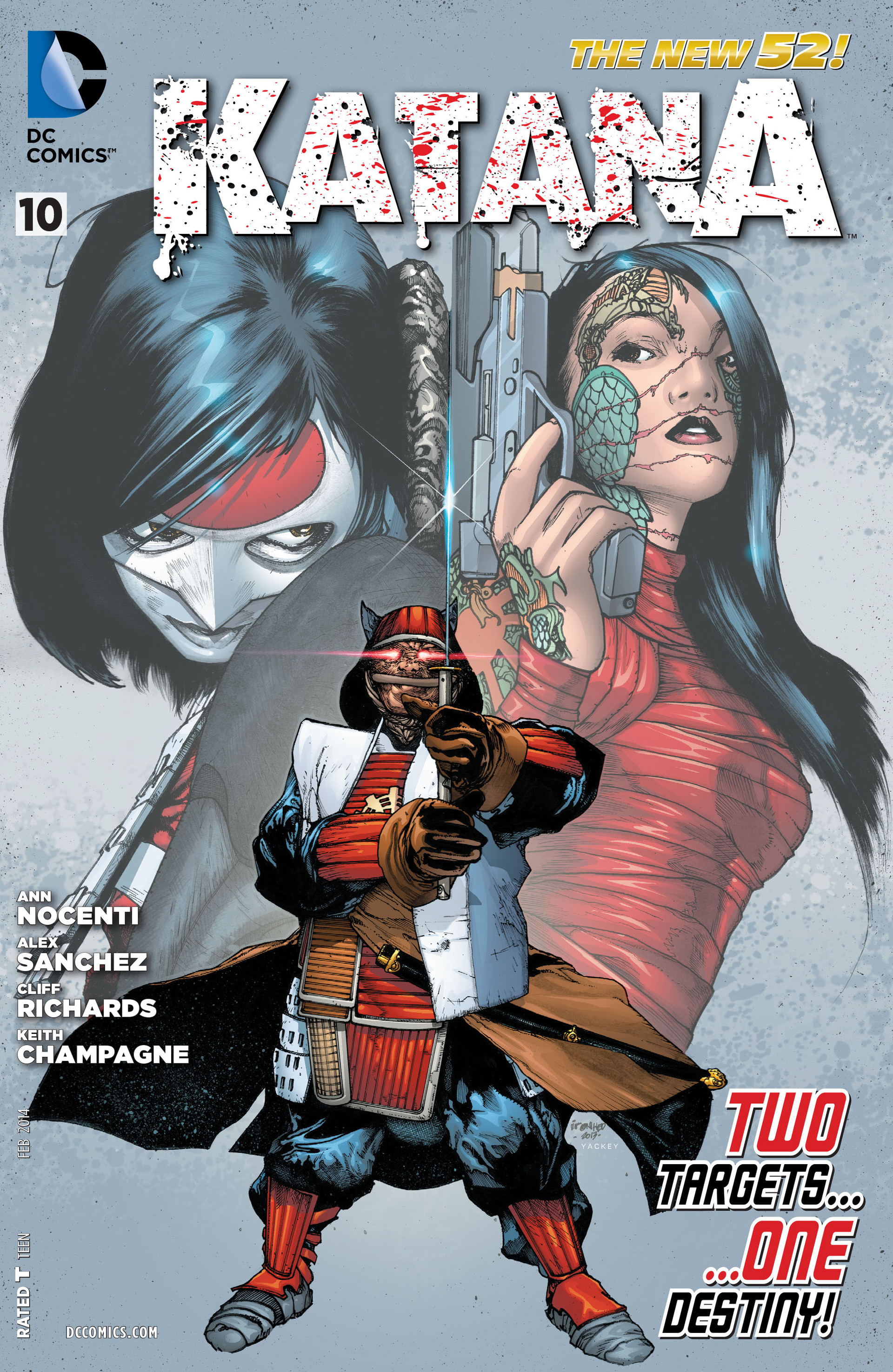 Read online Katana comic -  Issue #10 - 1