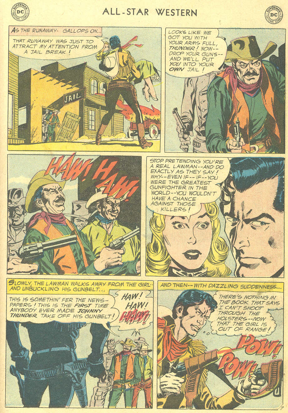 Read online All-Star Western (1951) comic -  Issue #105 - 31