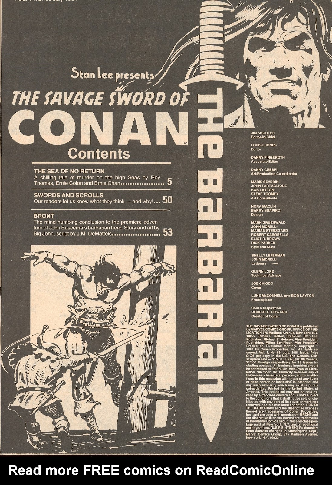 The Savage Sword Of Conan Issue #66 #67 - English 3
