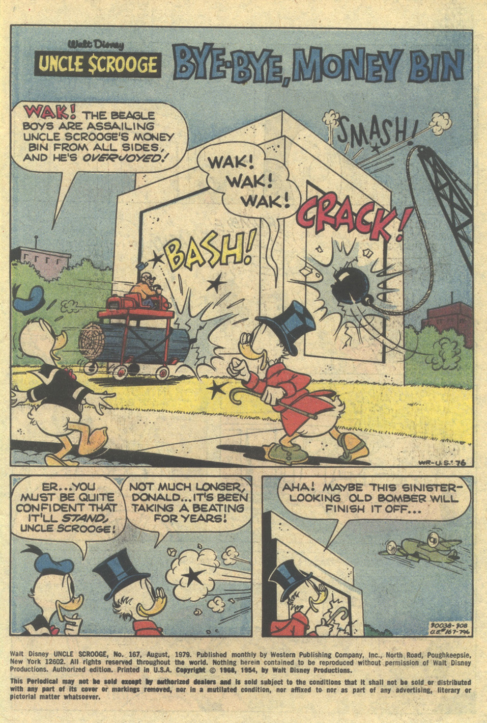 Uncle Scrooge (1953) Issue #167 #167 - English 3