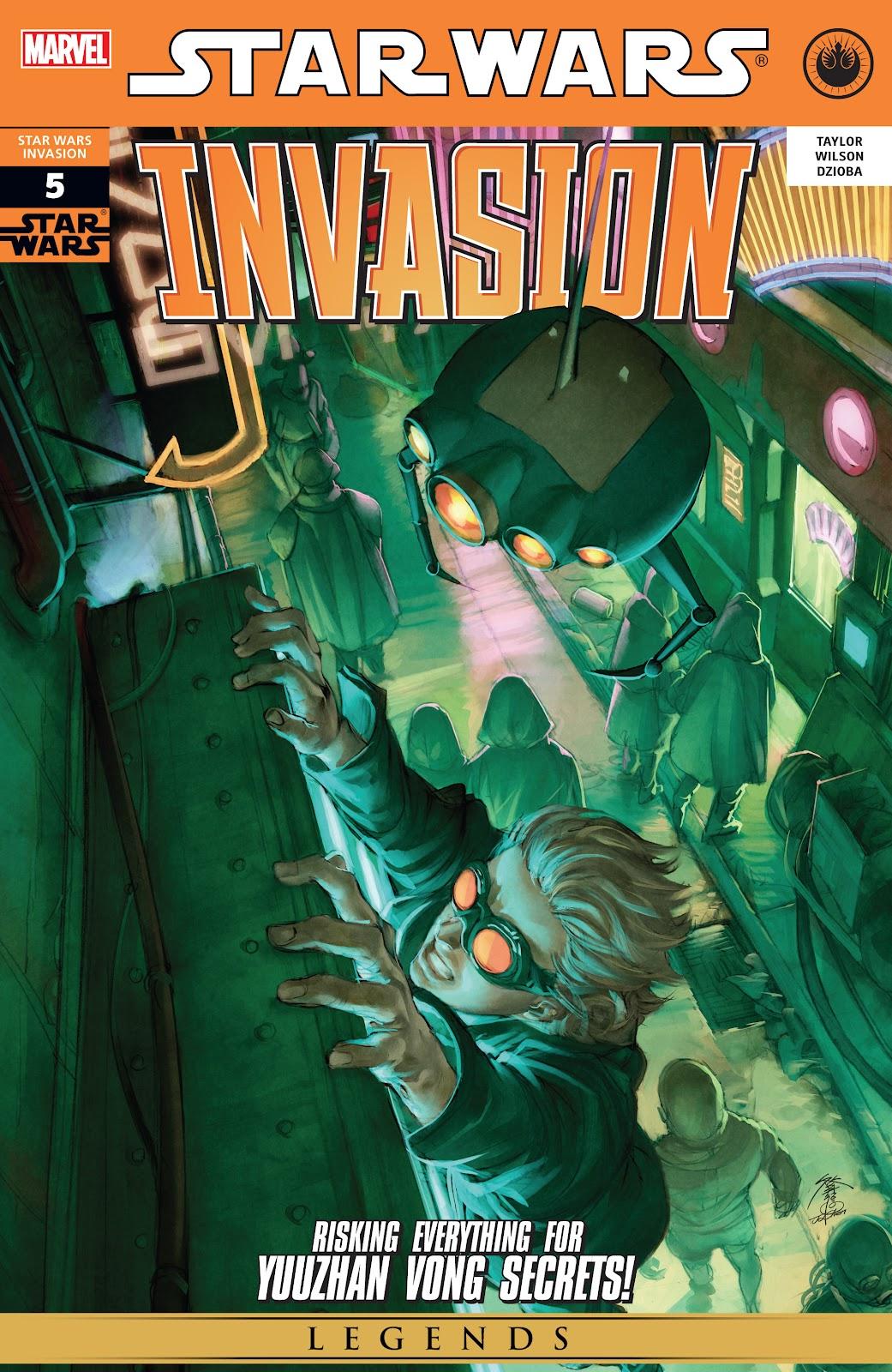 Star Wars: Invasion issue 5 - Page 1