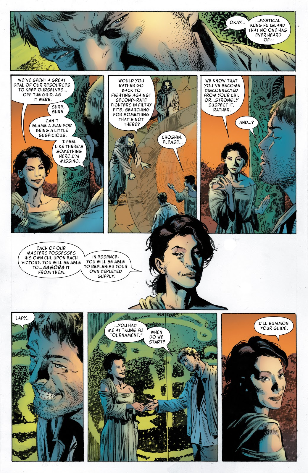 Iron Fist (2017) Issue #2 #2 - English 8