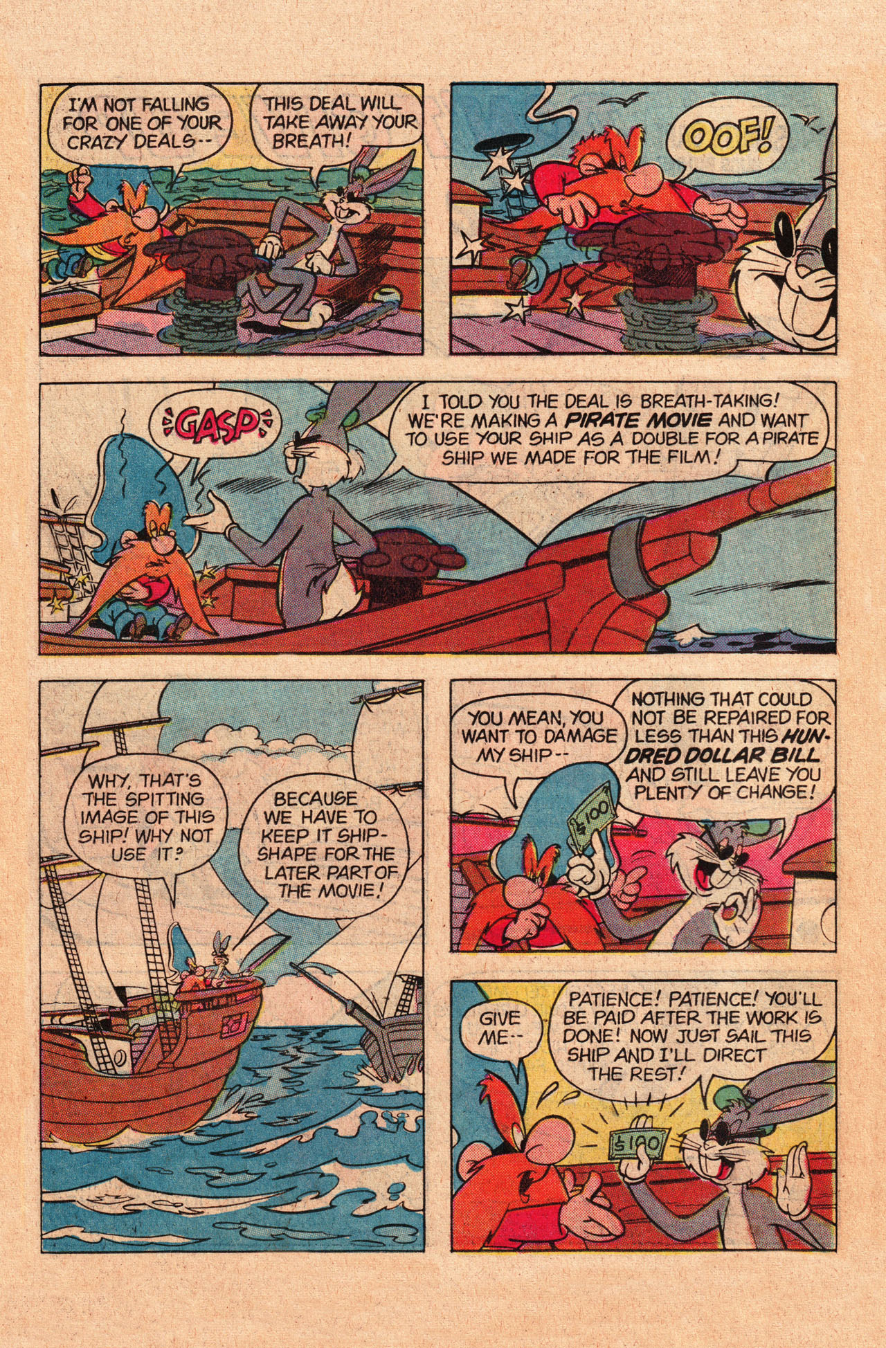 Yosemite Sam and Bugs Bunny chap 78 pic 22