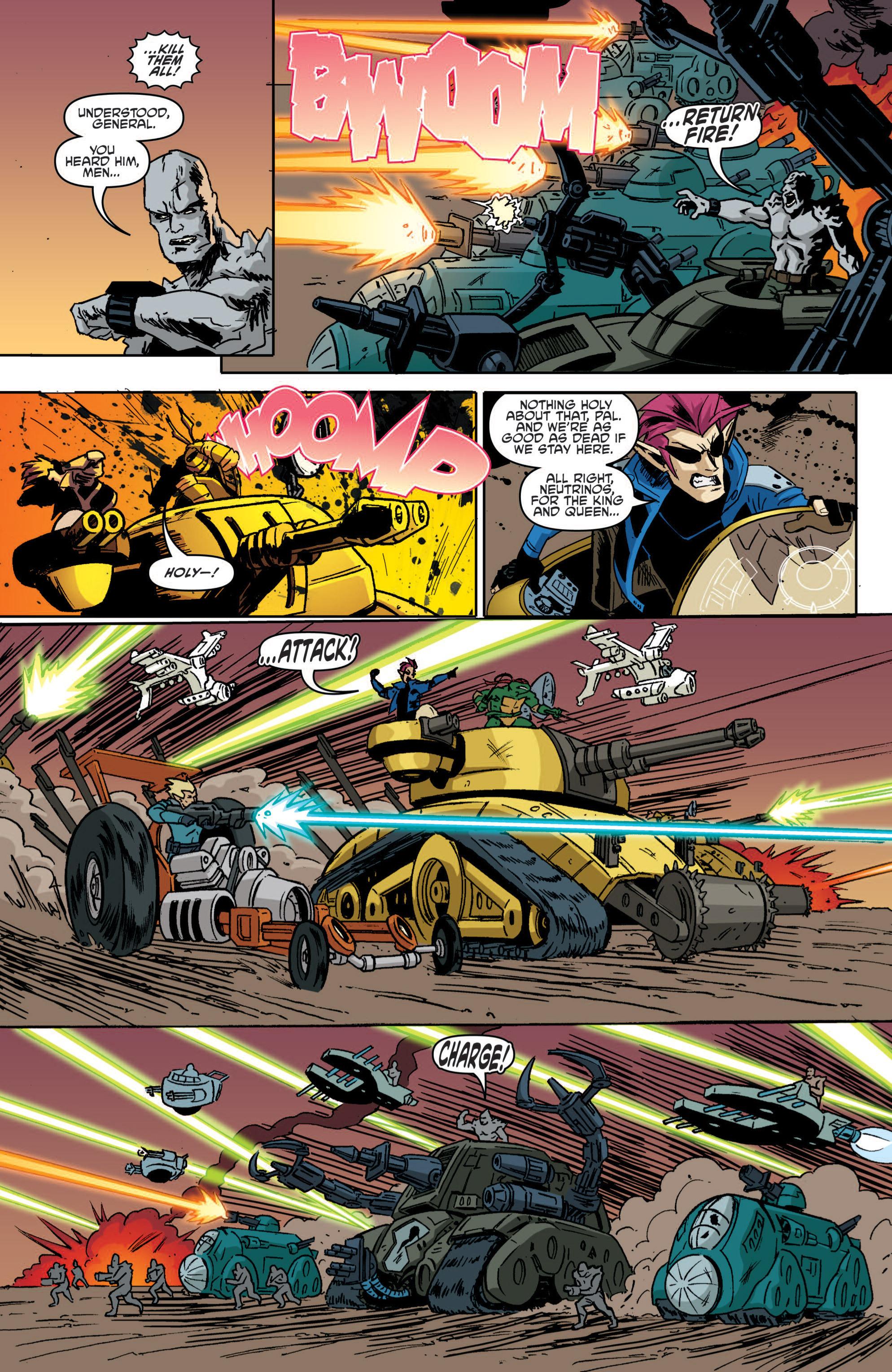 Read online Teenage Mutant Ninja Turtles (2011) comic -  Issue #19 - 23