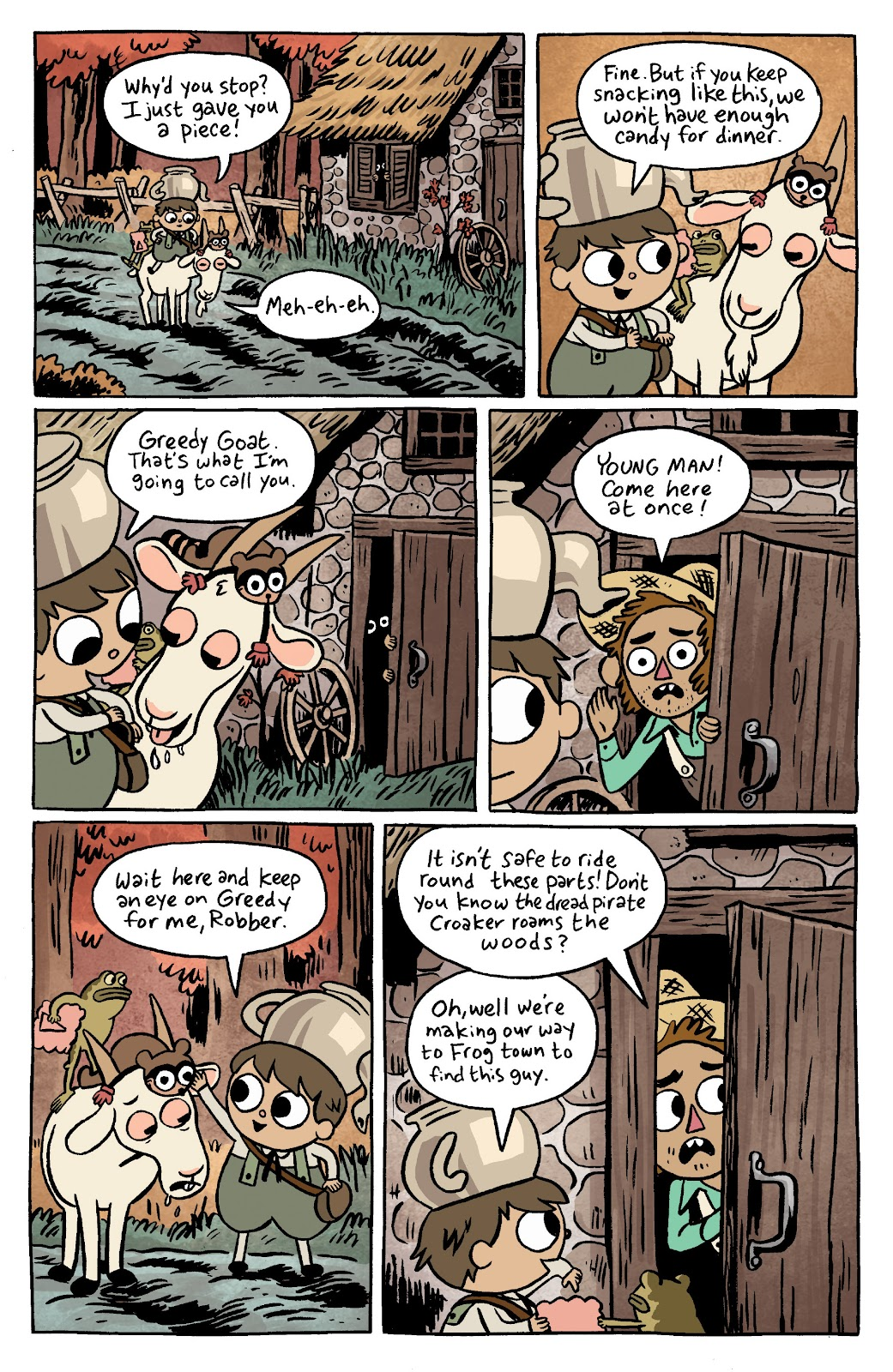 Over the Garden Wall (2016) Issue #11 #11 - English 4
