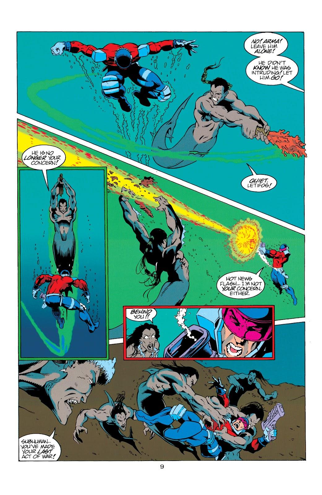 Aquaman (1994) Issue #7 #13 - English 10