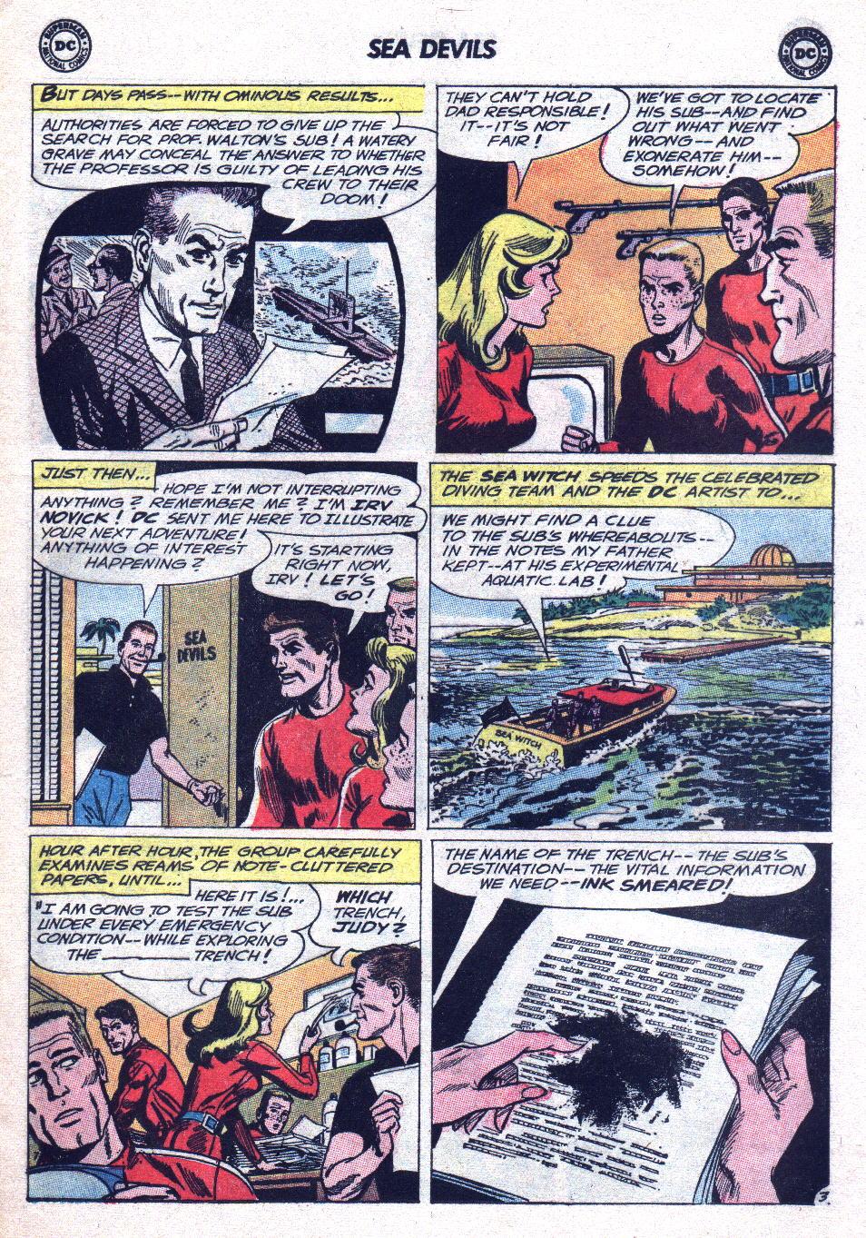 Read online Sea Devils comic -  Issue #15 - 5