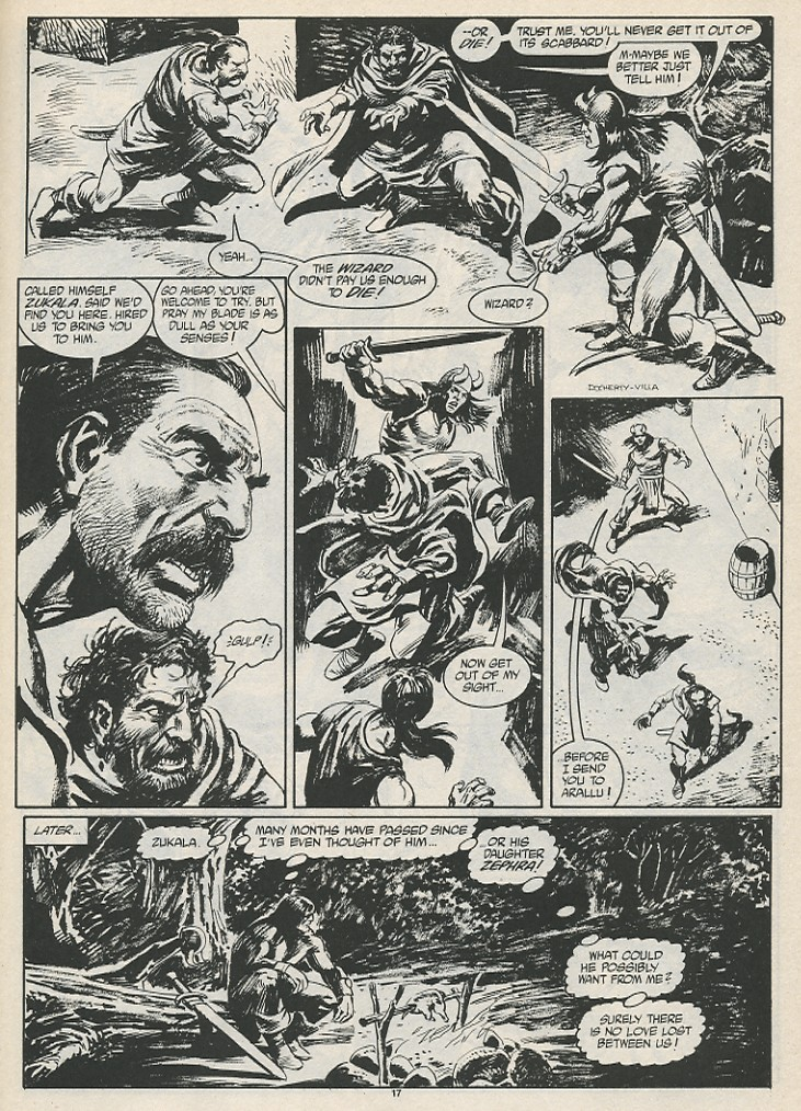 The Savage Sword Of Conan Issue #189 #190 - English 19