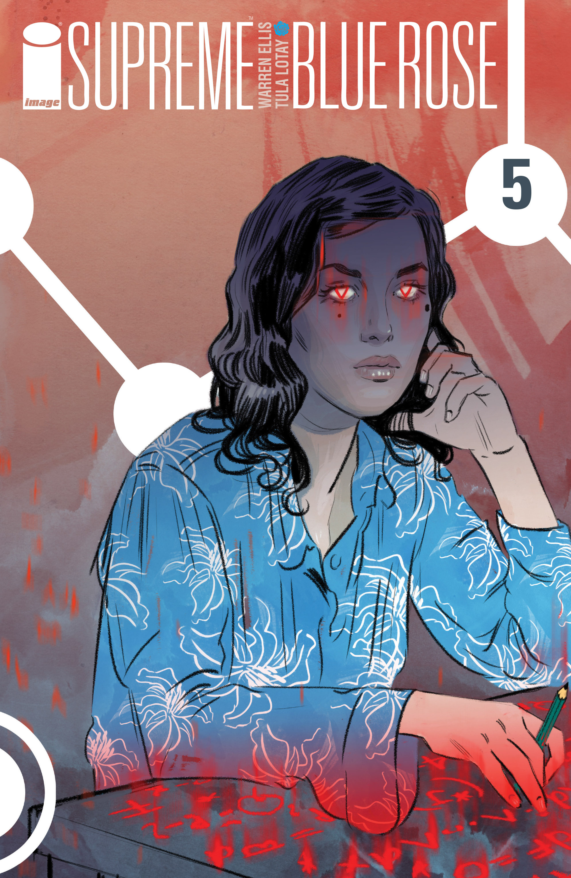Read online Supreme Blue Rose comic -  Issue #5 - 1