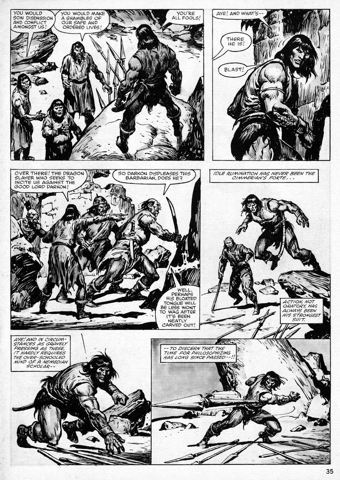 The Savage Sword Of Conan Issue #77 #78 - English 35