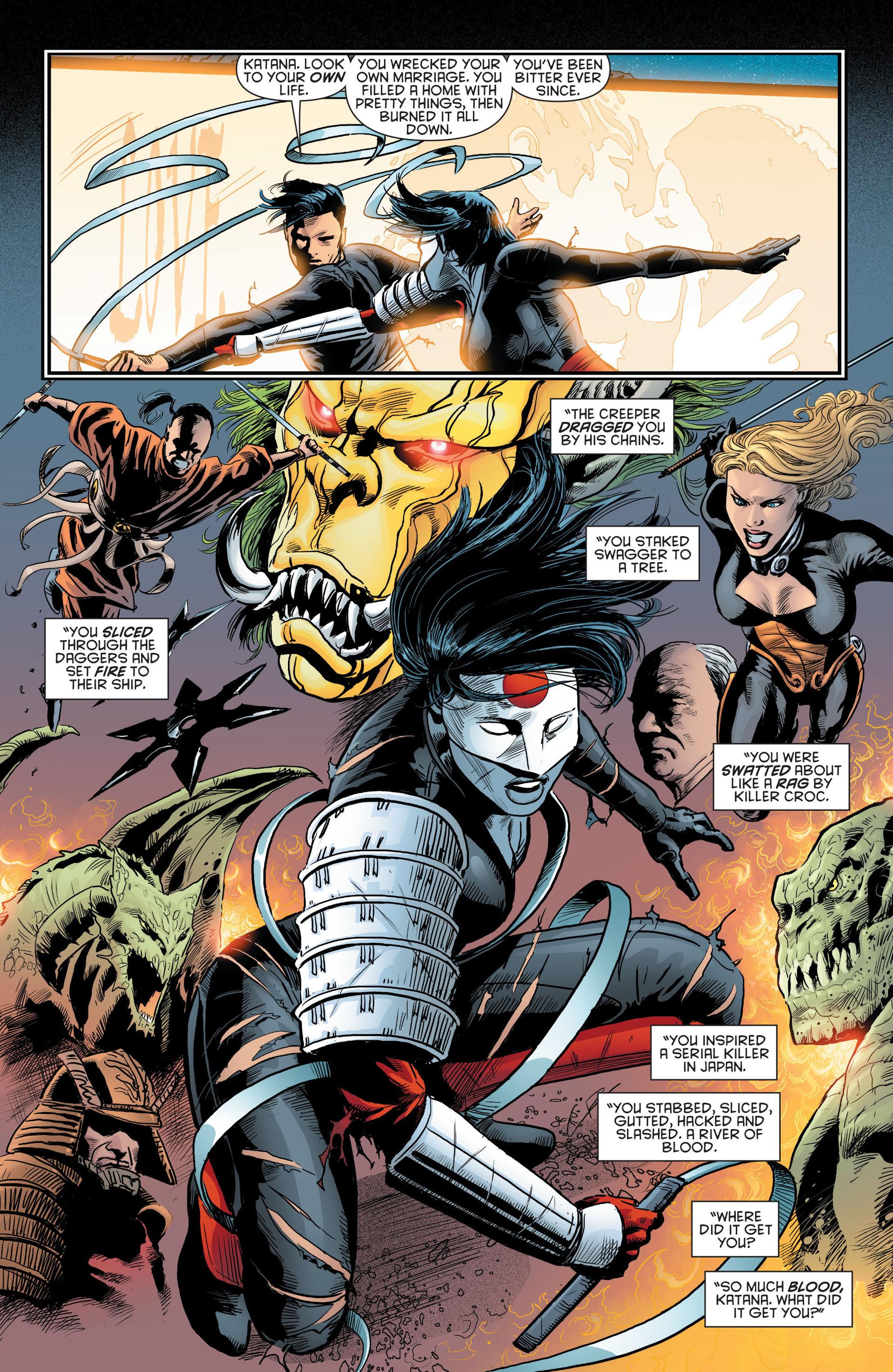 Read online Katana comic -  Issue #8 - 7