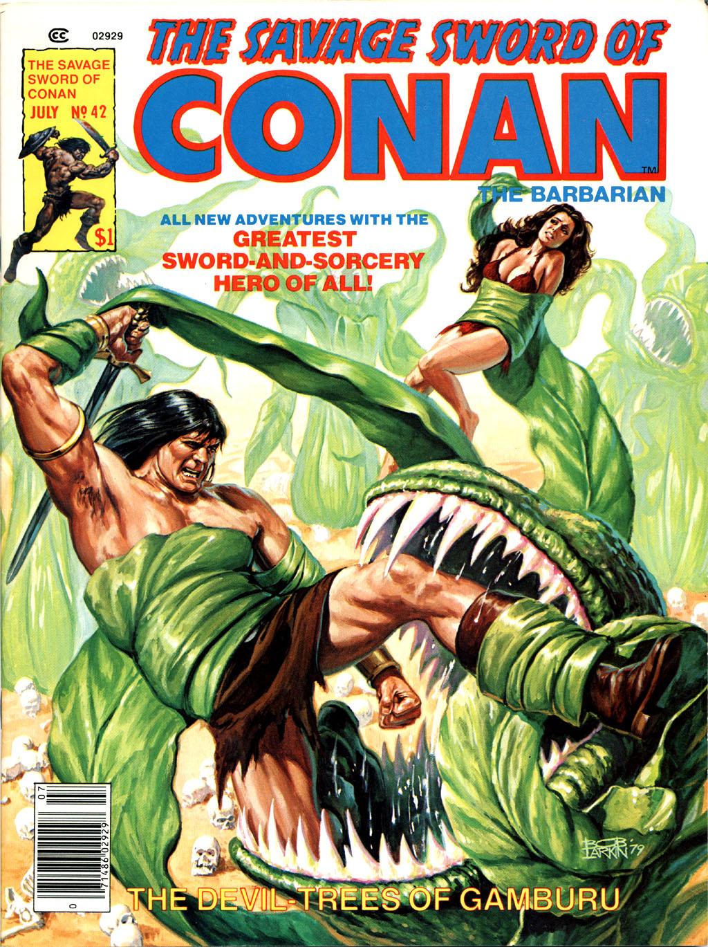 The Savage Sword Of Conan Issue #42 #43 - English 1