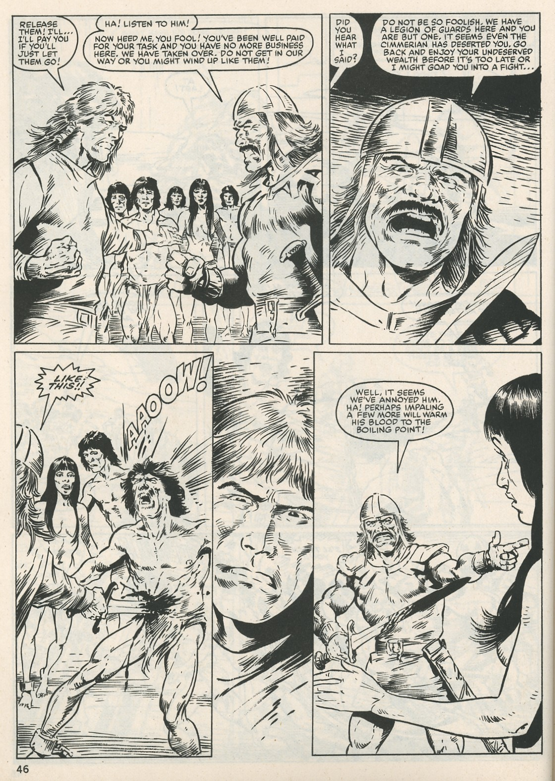 The Savage Sword Of Conan Issue #115 #116 - English 46