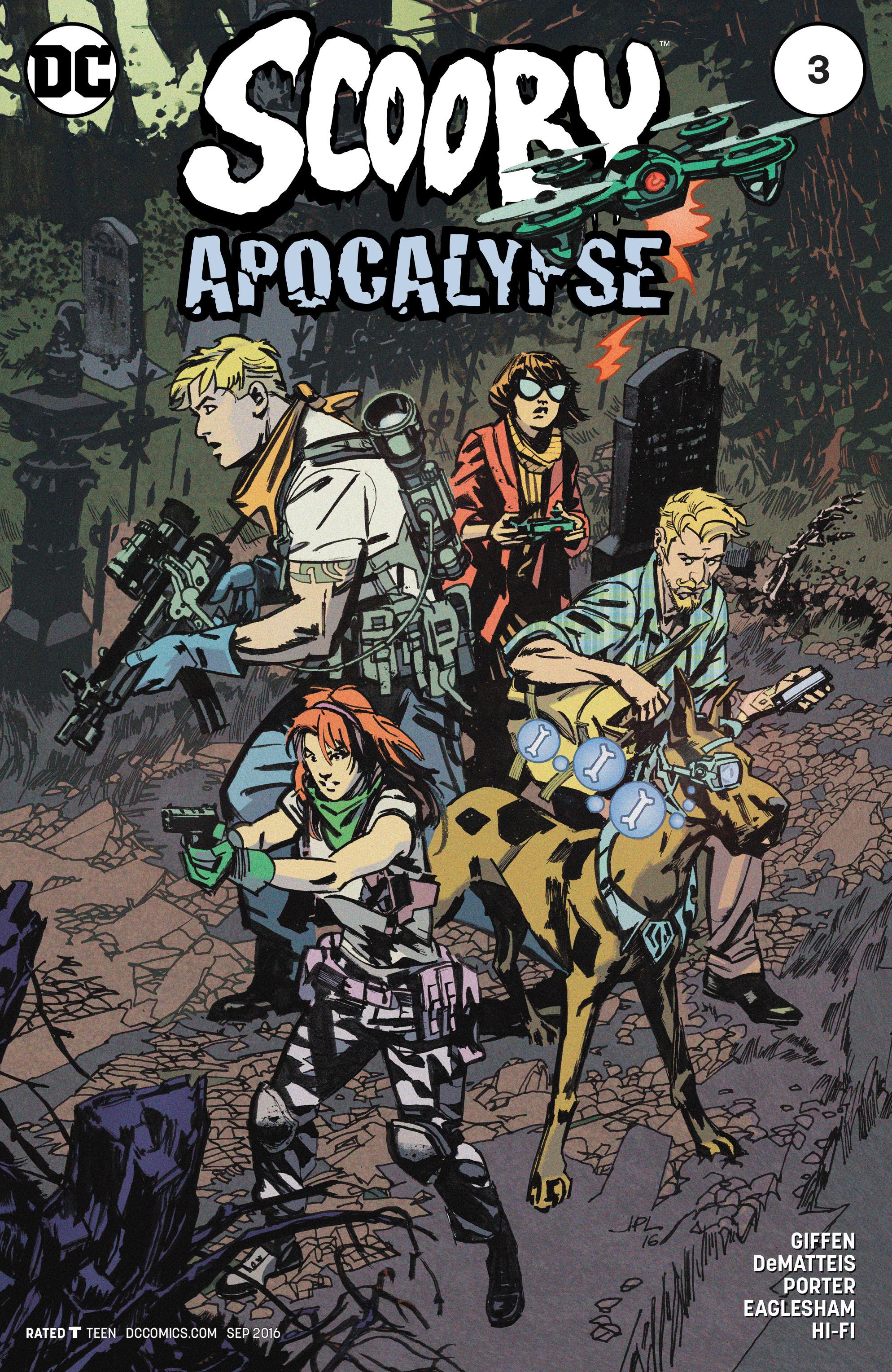 Read online Scooby Apocalypse comic -  Issue #3 - 3