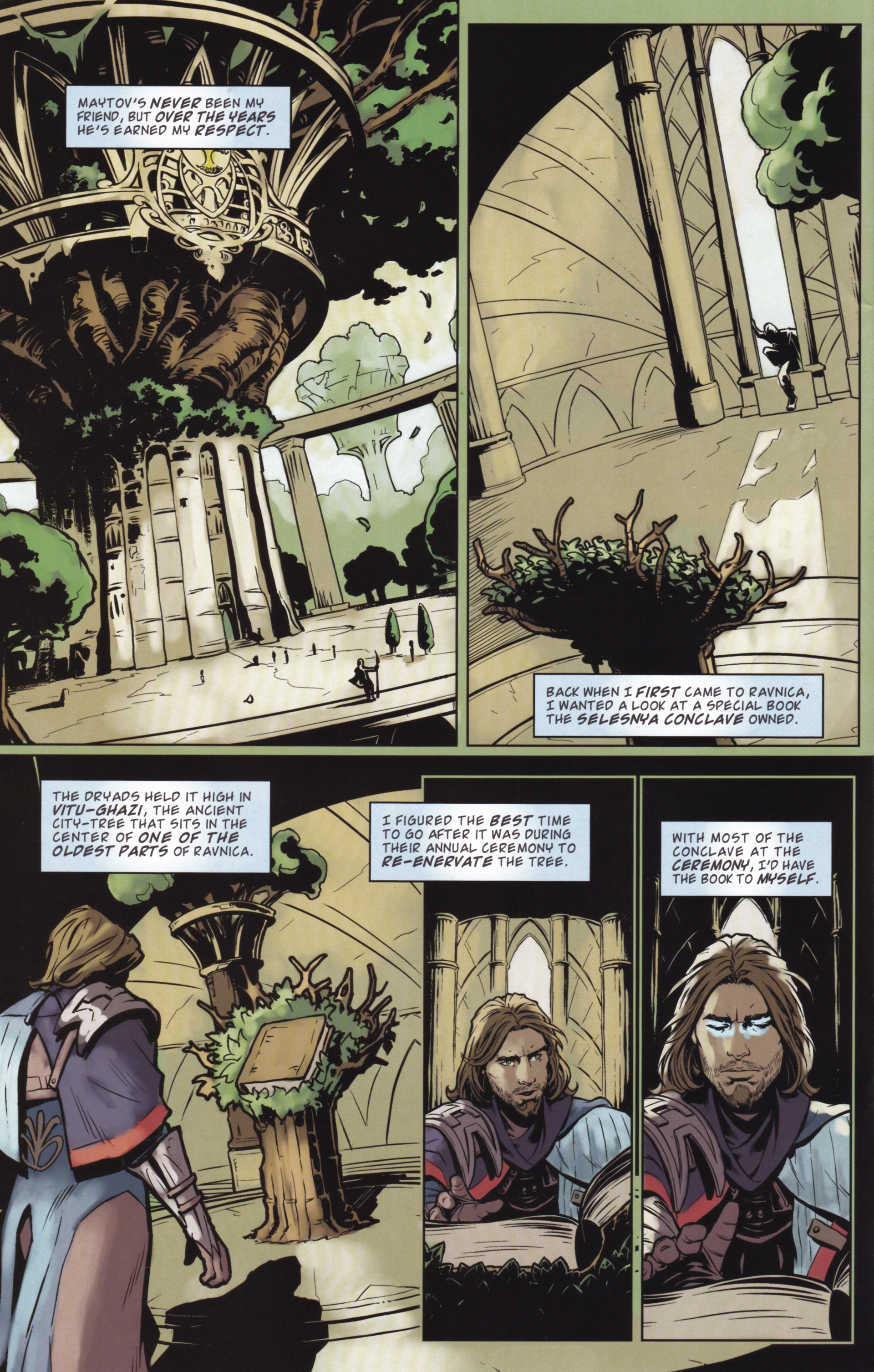 Read online Magic: The Gathering--Path of Vengeance comic -  Issue #2 - 10