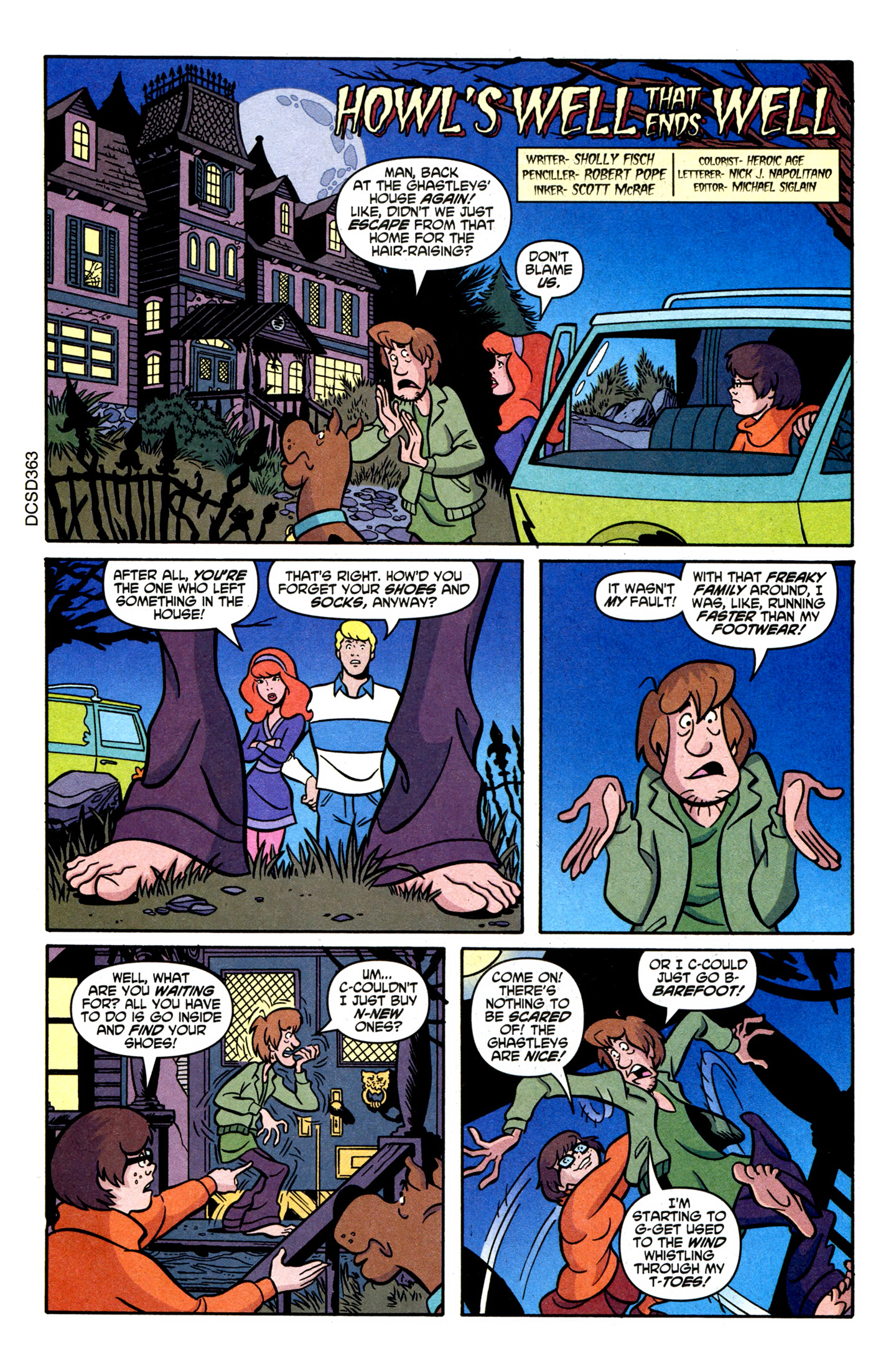 Read online Scooby-Doo (1997) comic -  Issue #107 - 31