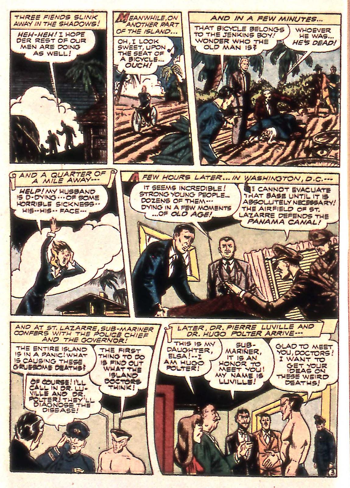Sub-Mariner Comics Issue #14 #14 - English 18