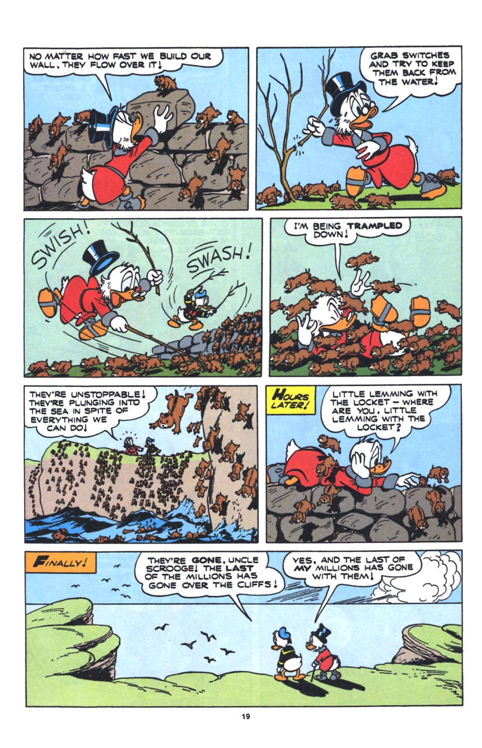 Uncle Scrooge (1953) Issue #250 #250 - English 21