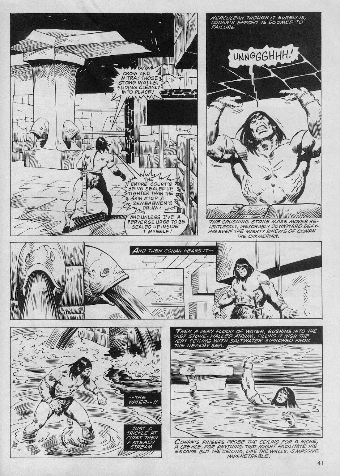 The Savage Sword Of Conan Issue #61 #62 - English 41