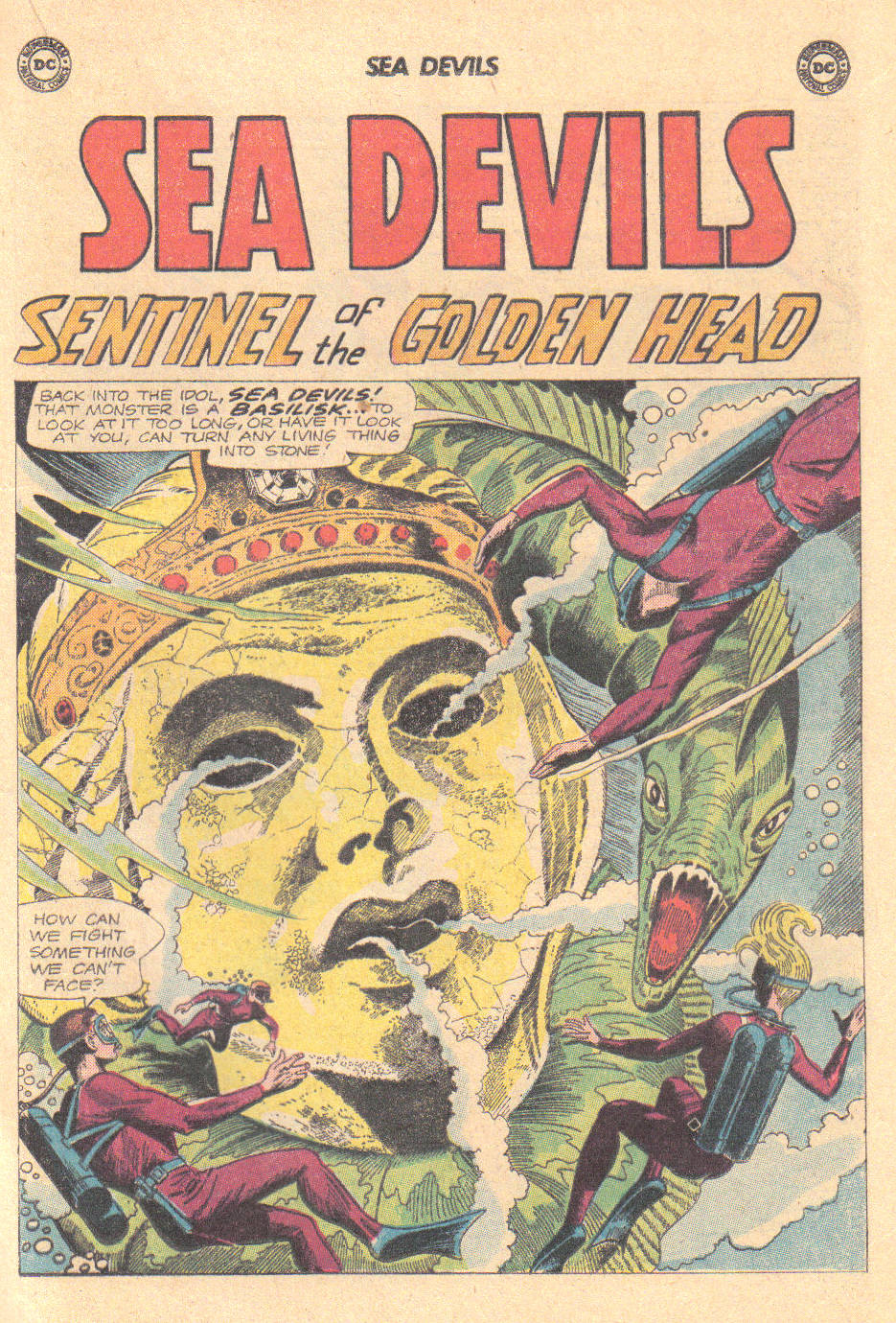 Read online Sea Devils comic -  Issue #16 - 17