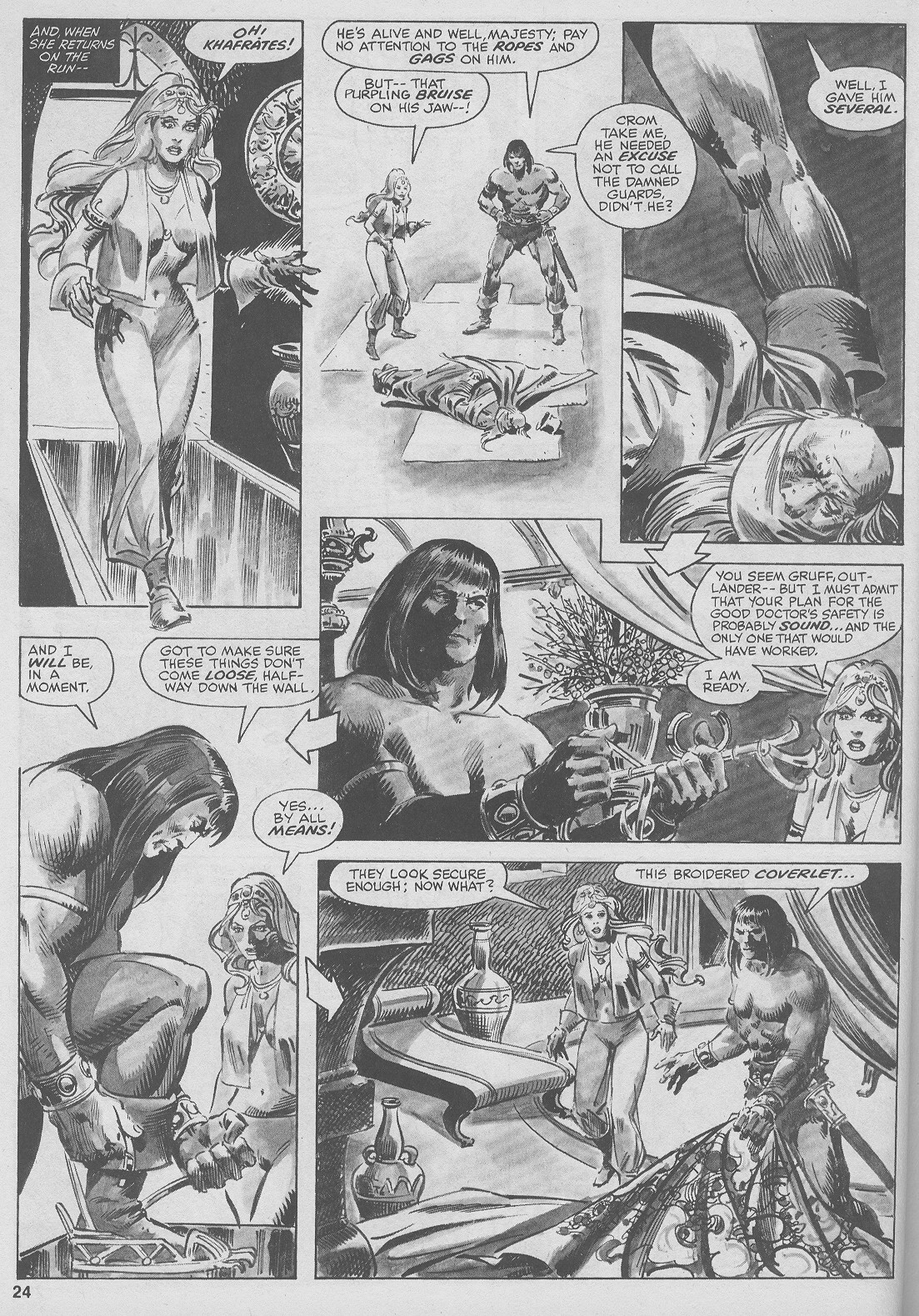 The Savage Sword Of Conan Issue #44 #45 - English 24