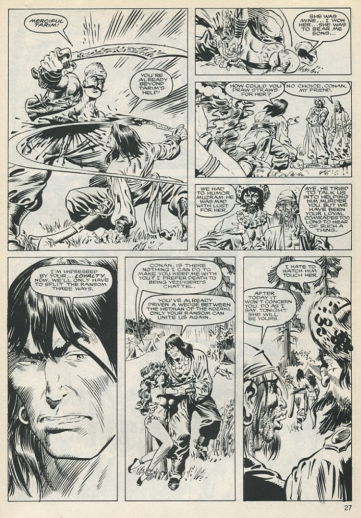 The Savage Sword Of Conan Issue #131 #132 - English 27
