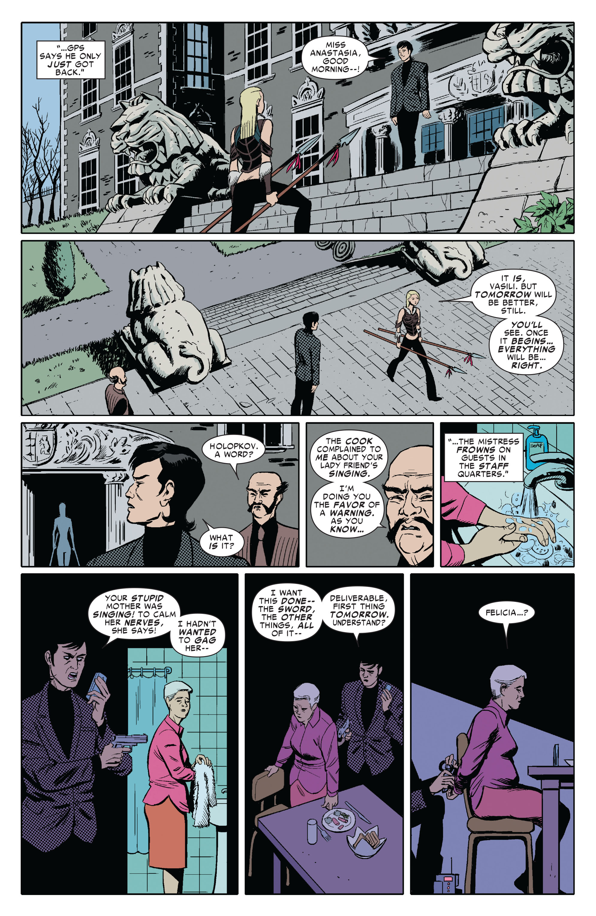 Amazing Spider-Man Presents: Black Cat 3 Page 8