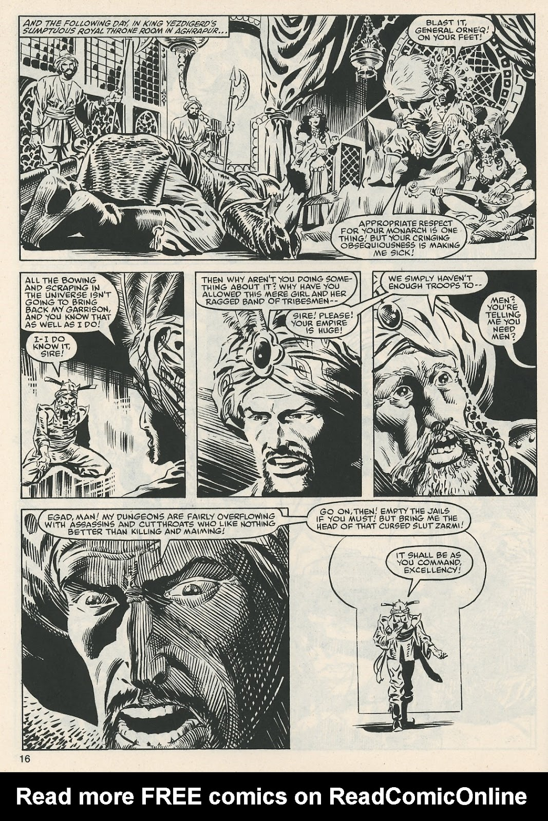 The Savage Sword Of Conan Issue #112 #113 - English 16