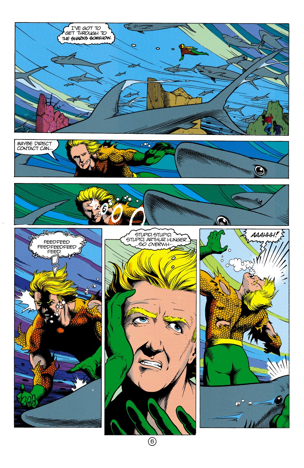Aquaman (1991) Issue #3 #3 - English 7