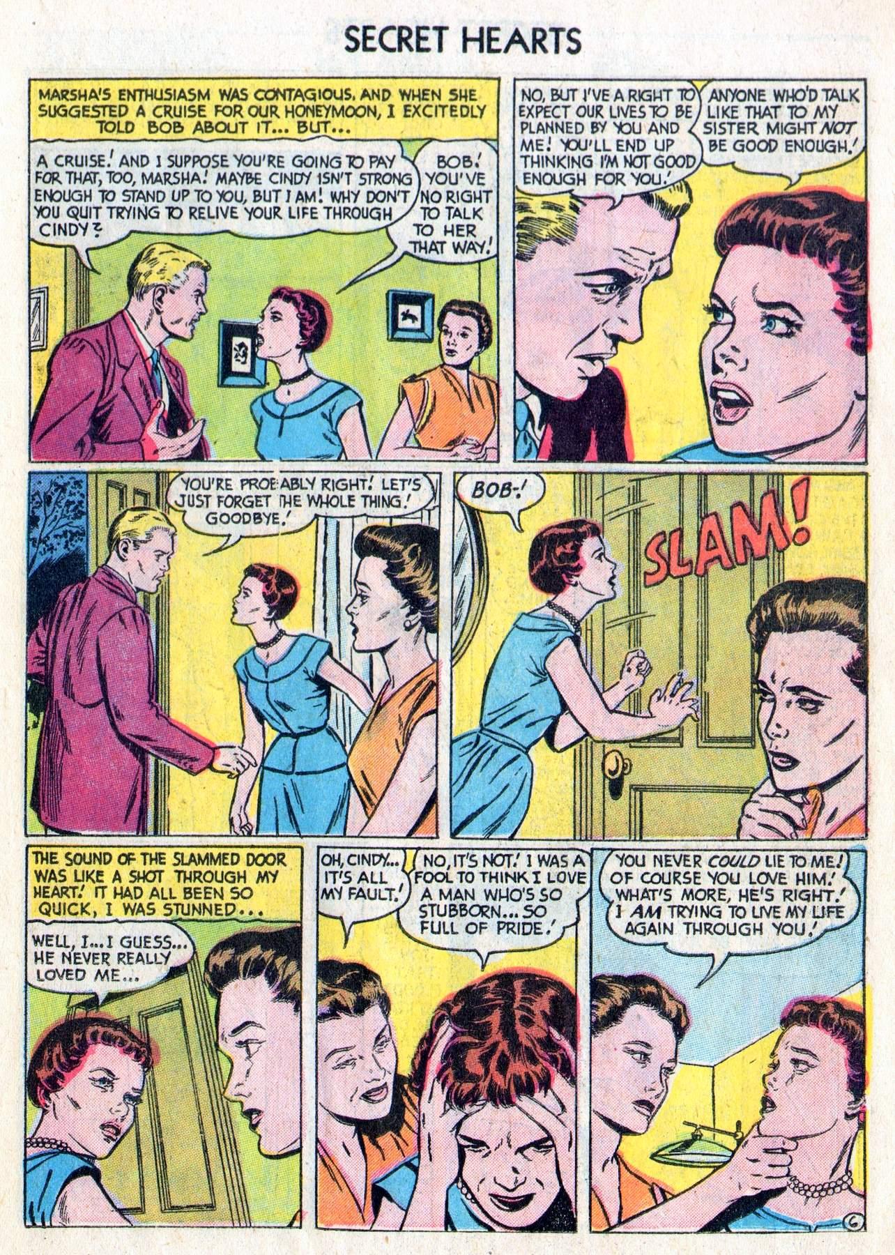 Read online Secret Hearts comic -  Issue #28 - 15