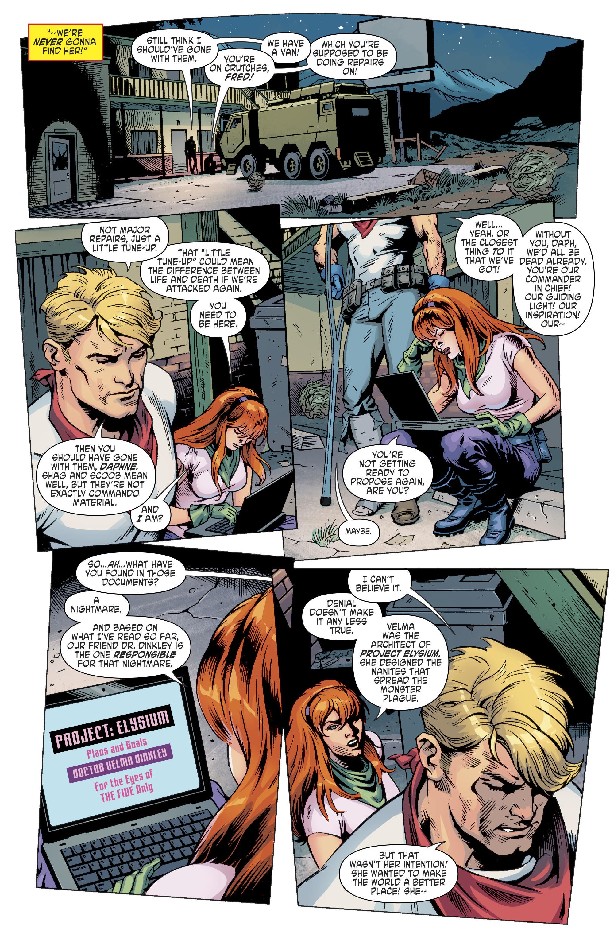 Read online Scooby Apocalypse comic -  Issue #11 - 6