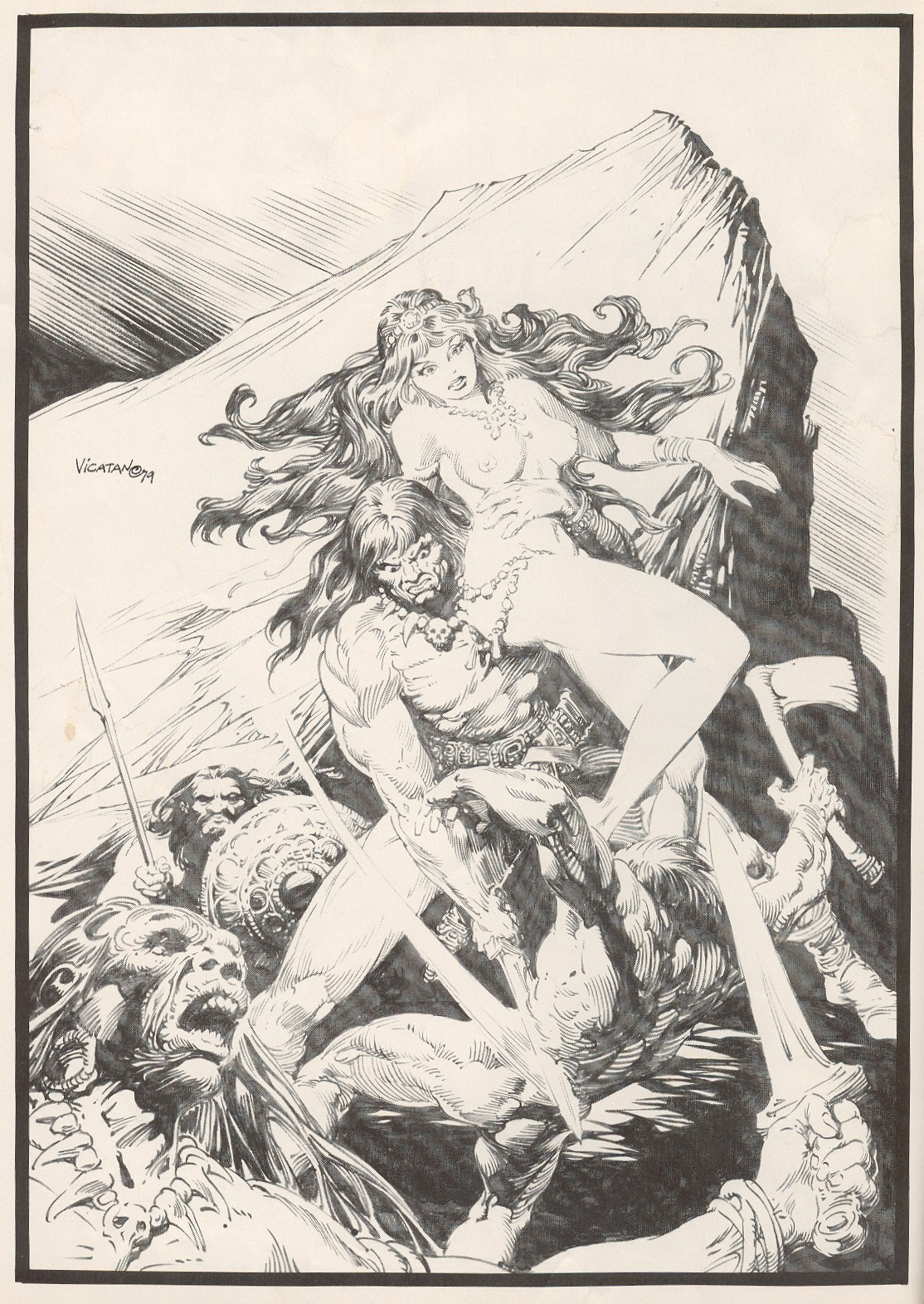 The Savage Sword Of Conan Issue #56 #57 - English 2