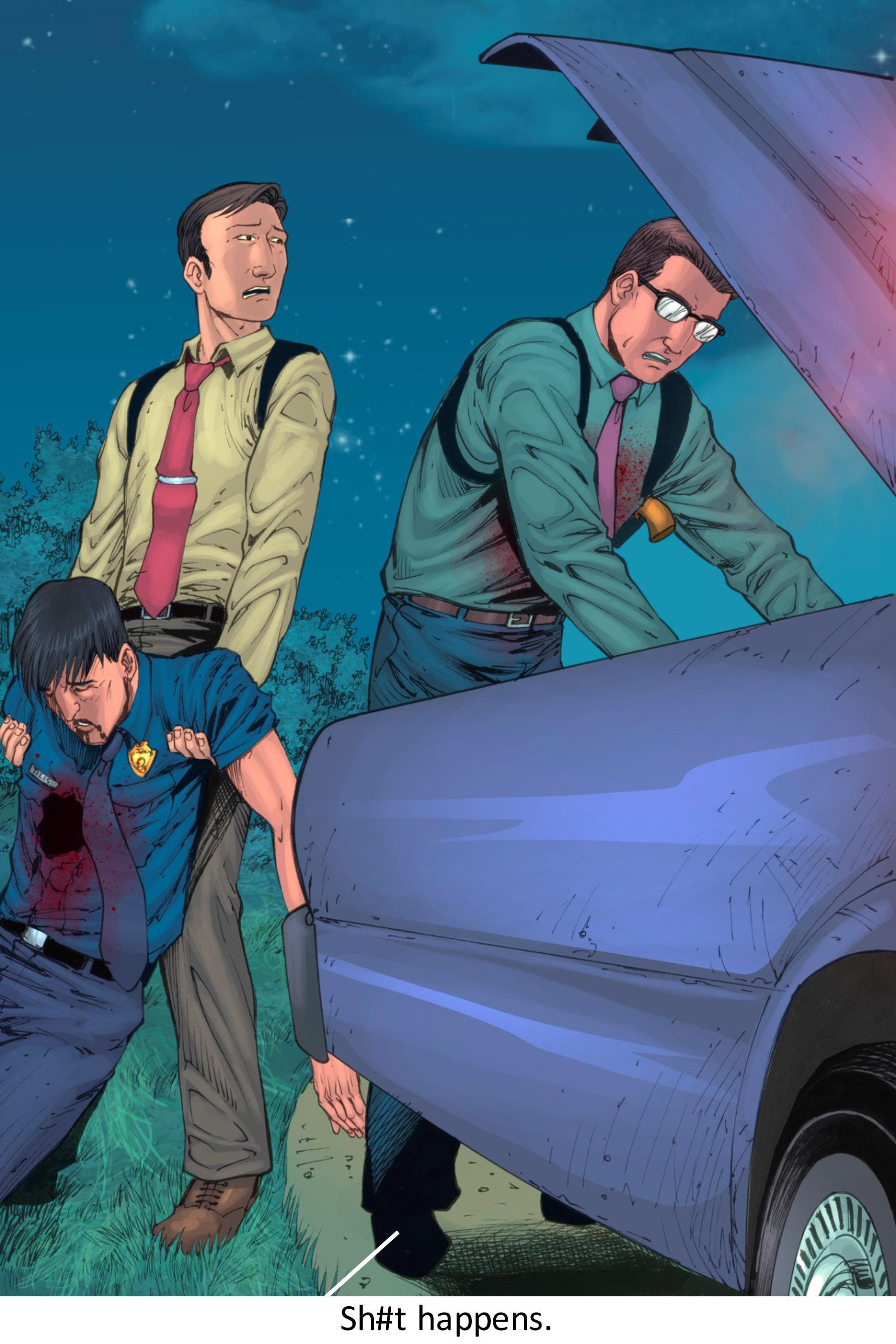 Read online Z-Men comic -  Issue #3 - 145