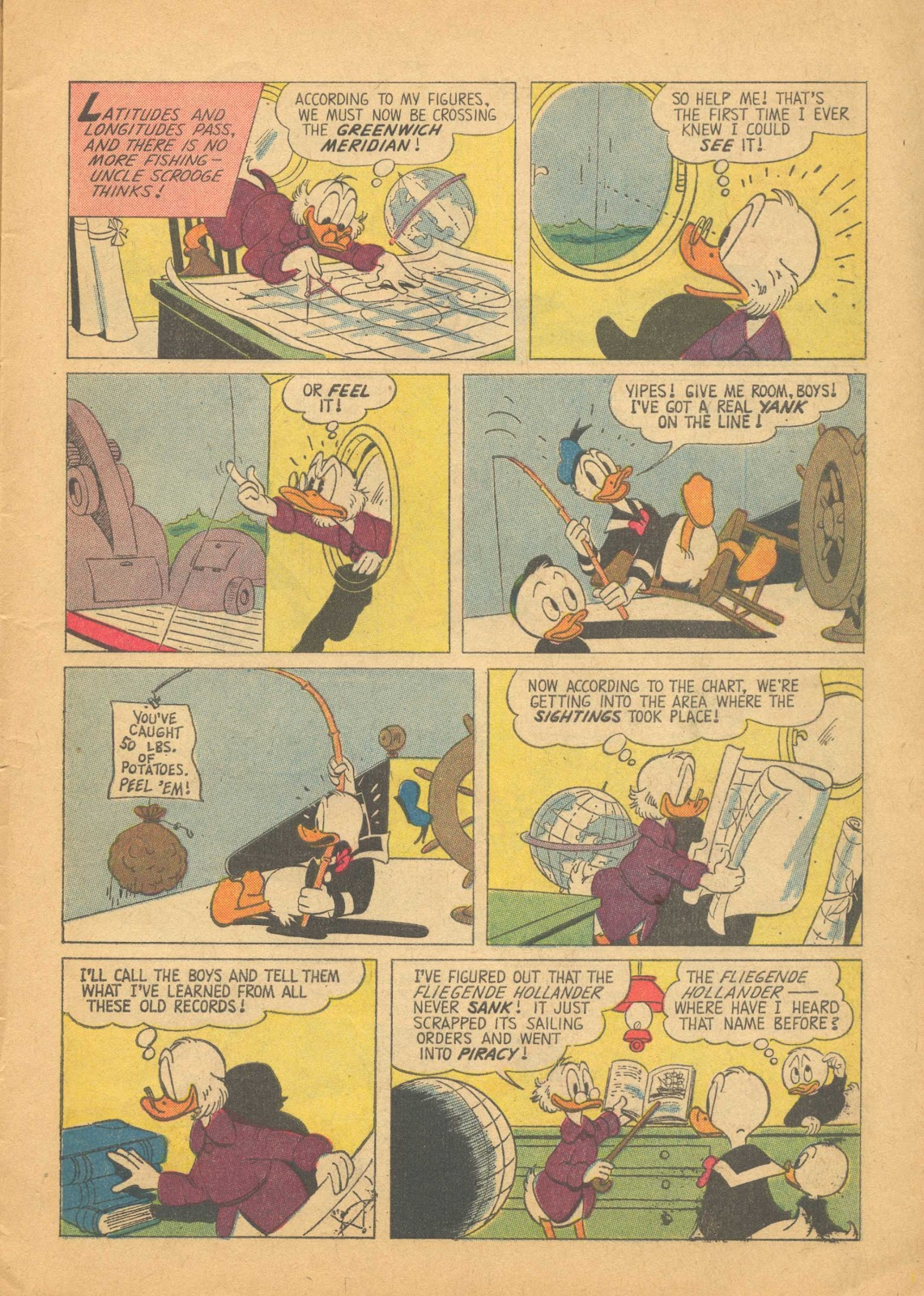 Uncle Scrooge (1953) Issue #25 #25 - English 7