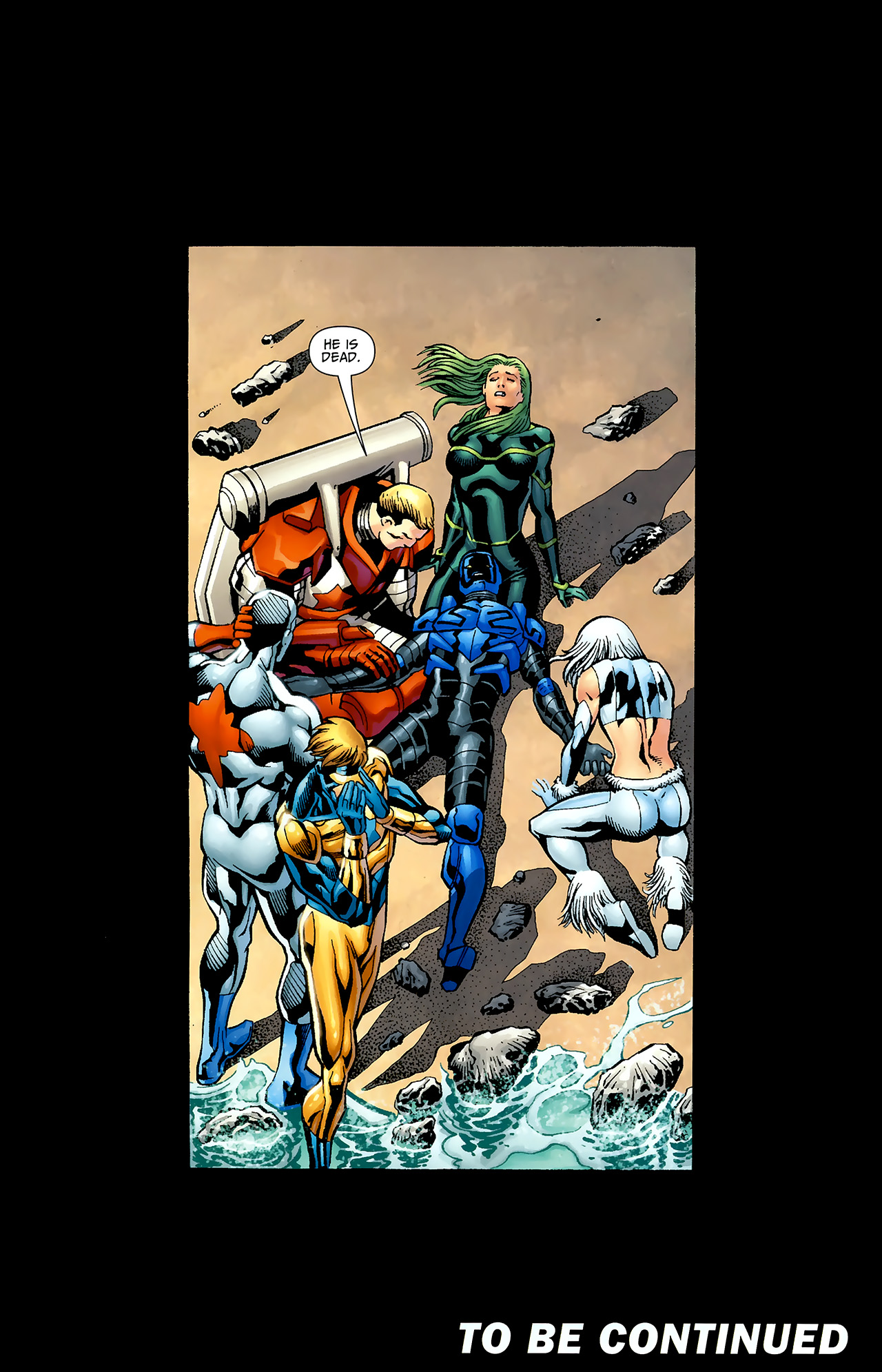 Read online Justice League: Generation Lost comic -  Issue #20 - 22