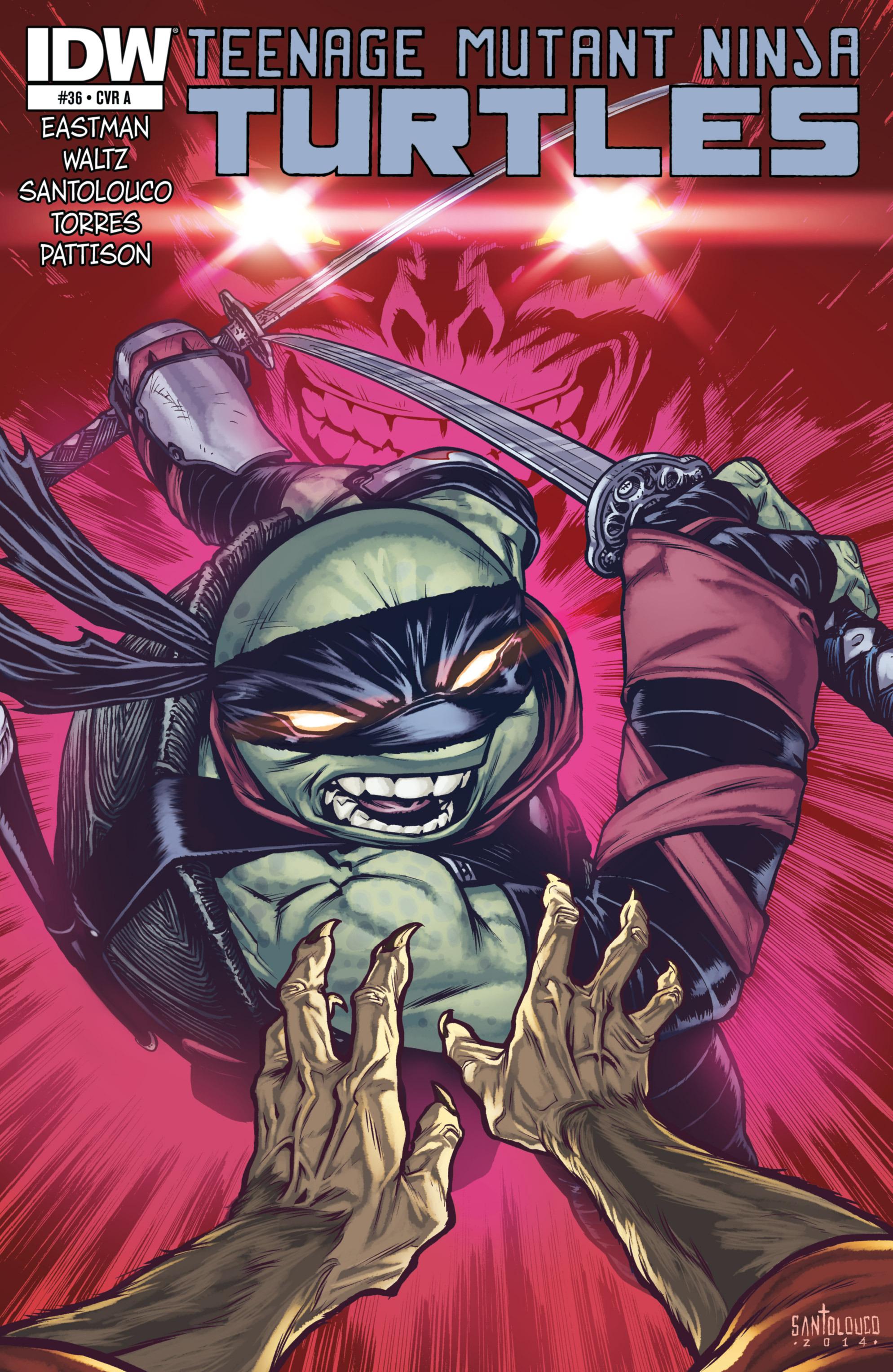 Read online Teenage Mutant Ninja Turtles (2011) comic -  Issue #36 - 1